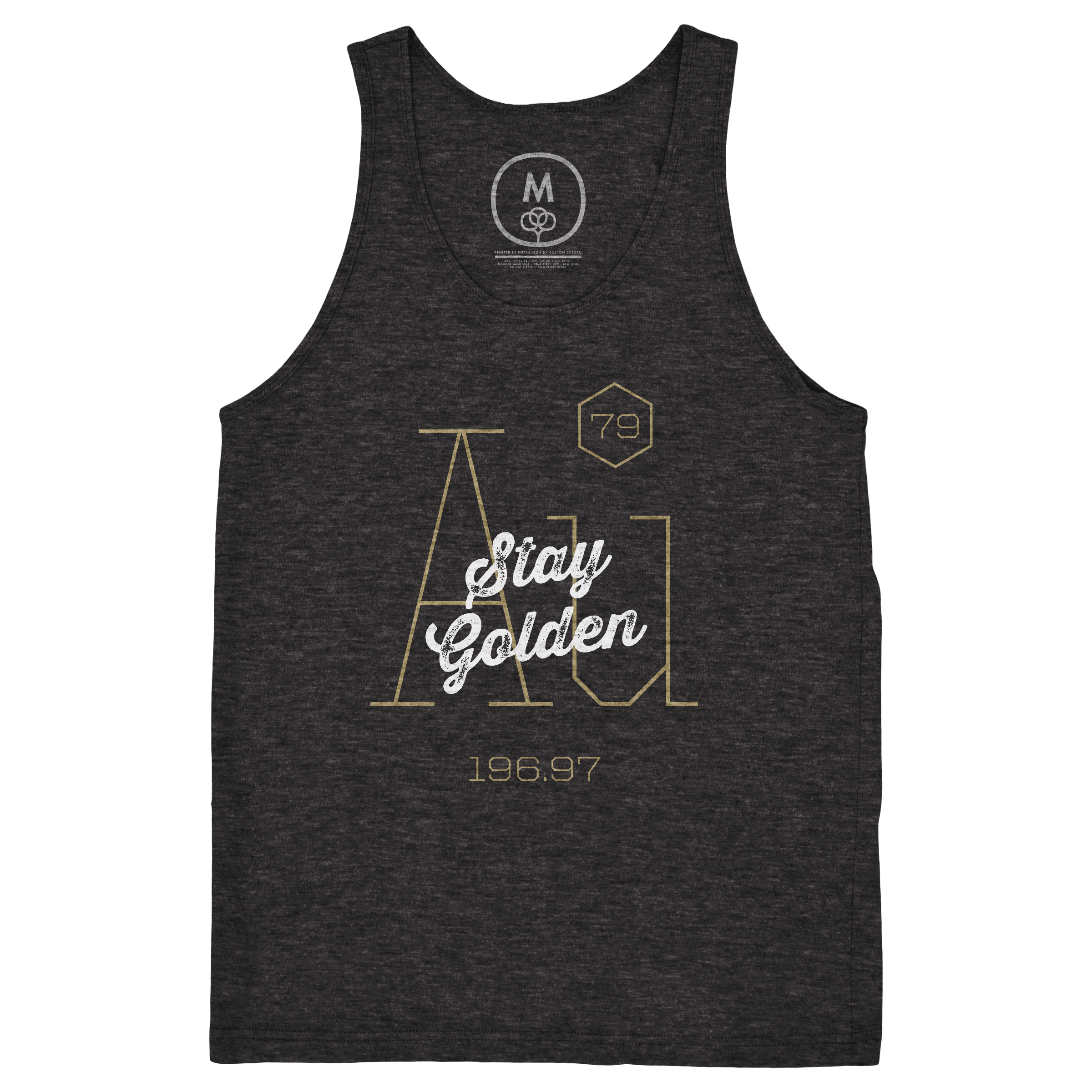 Stay Golden Tank Top