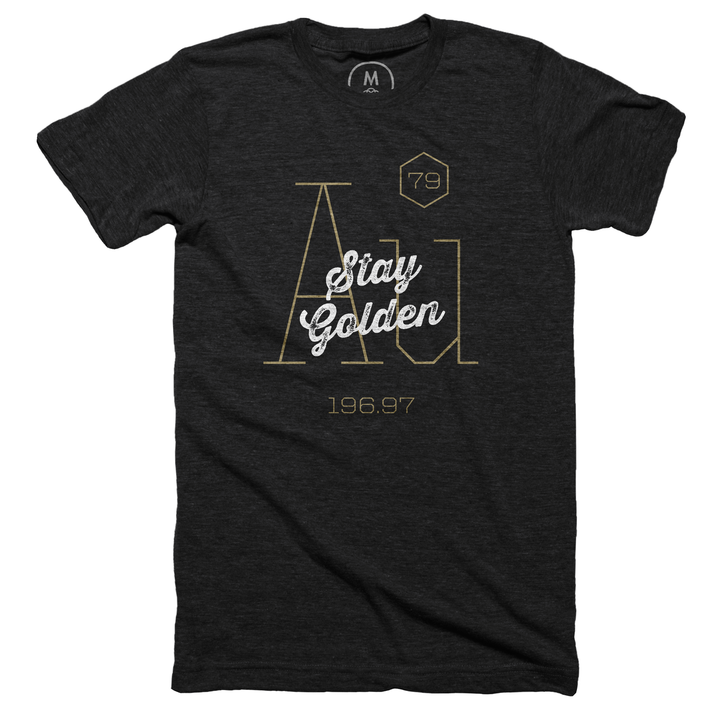 Stay Golden Vintage Black (Men's)