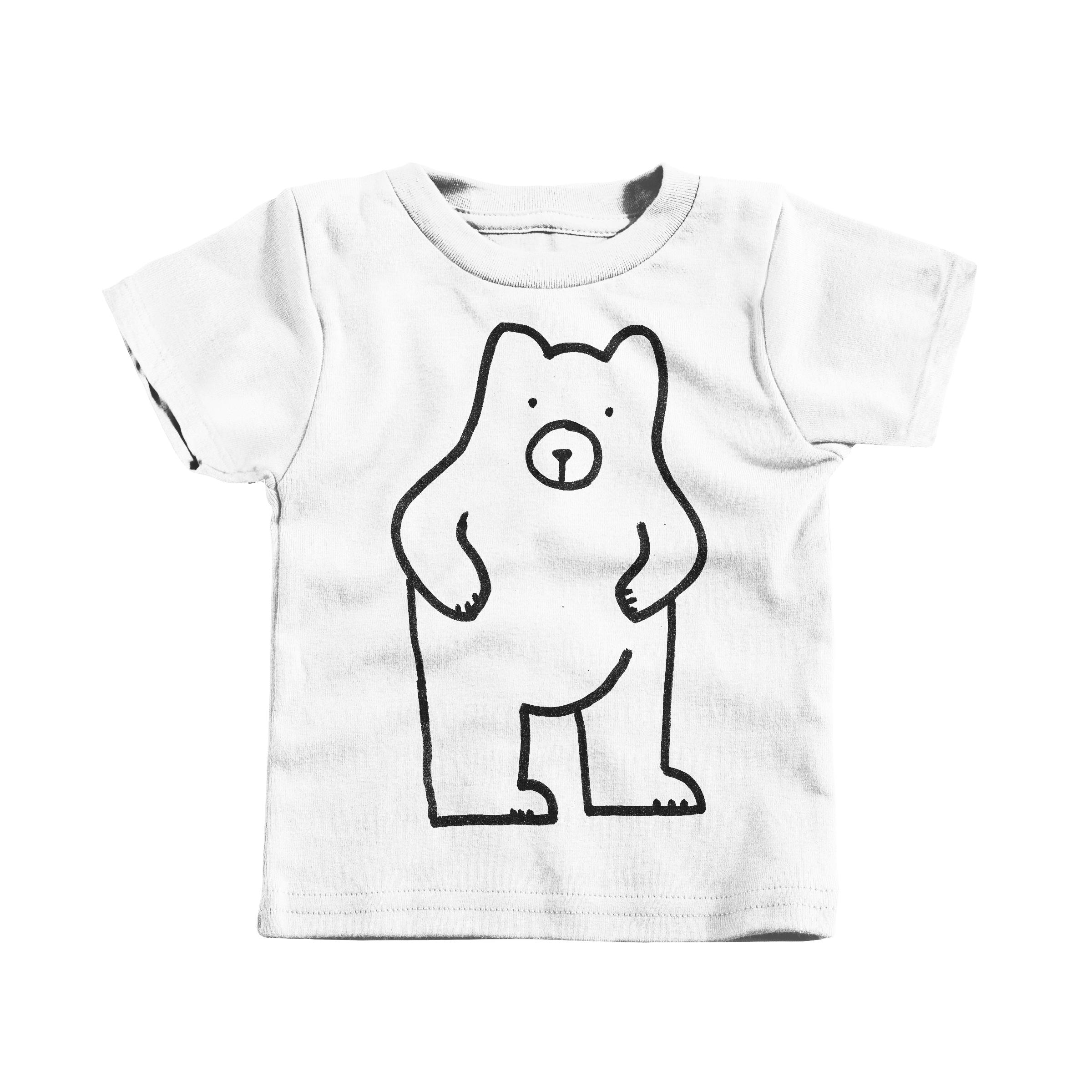 Dumb Bear White (Infant)