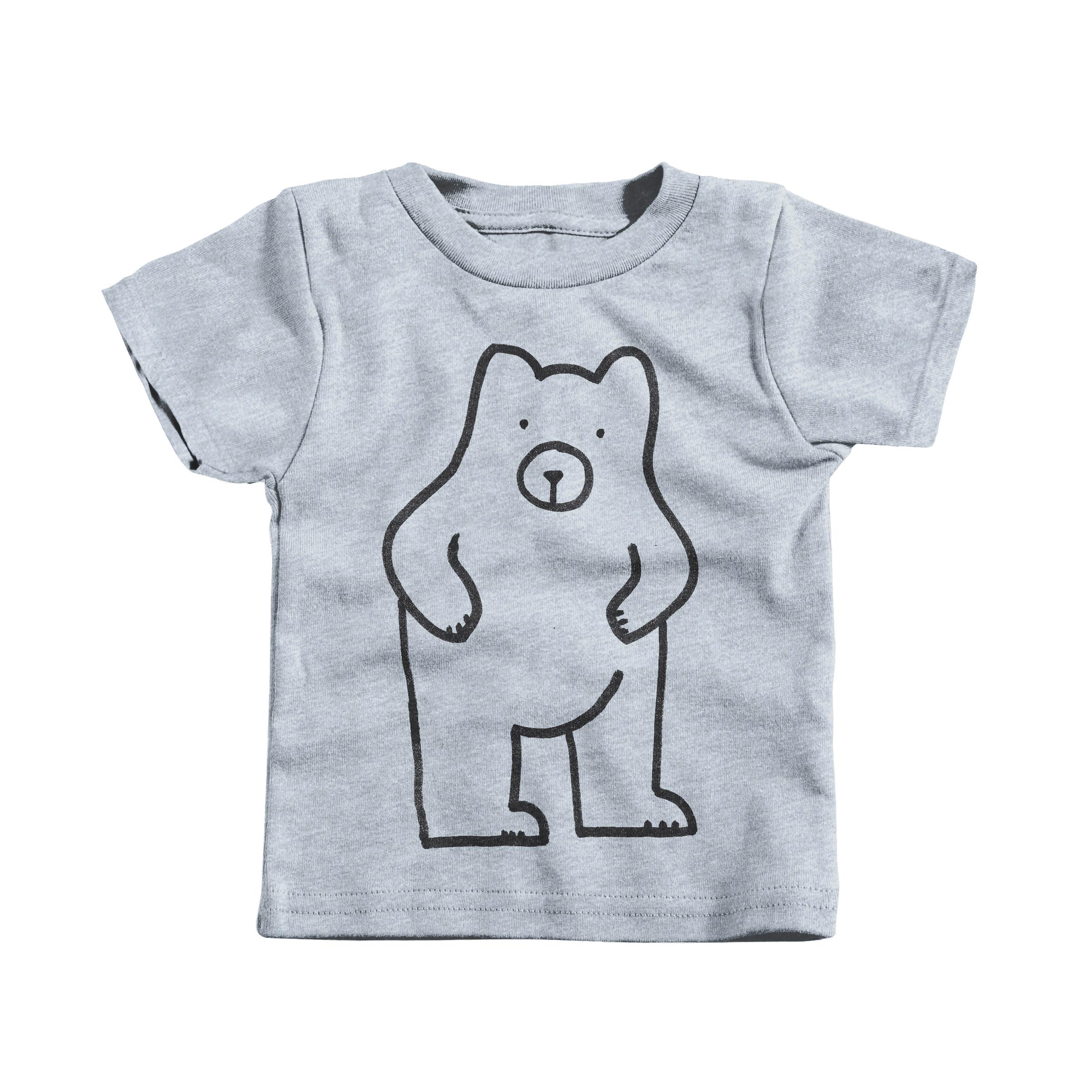 Dumb Bear Heather Grey (Infant)