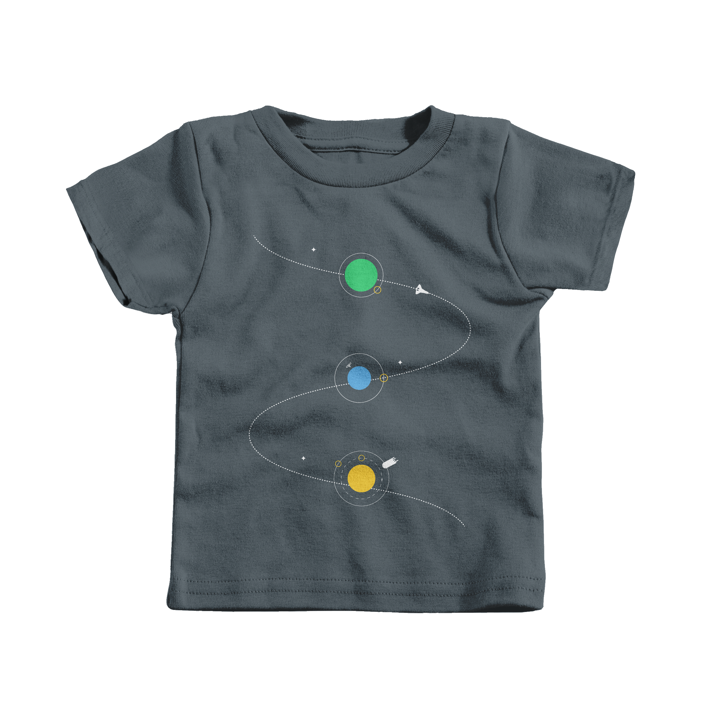 Space Adventure Charcoal (Infant)