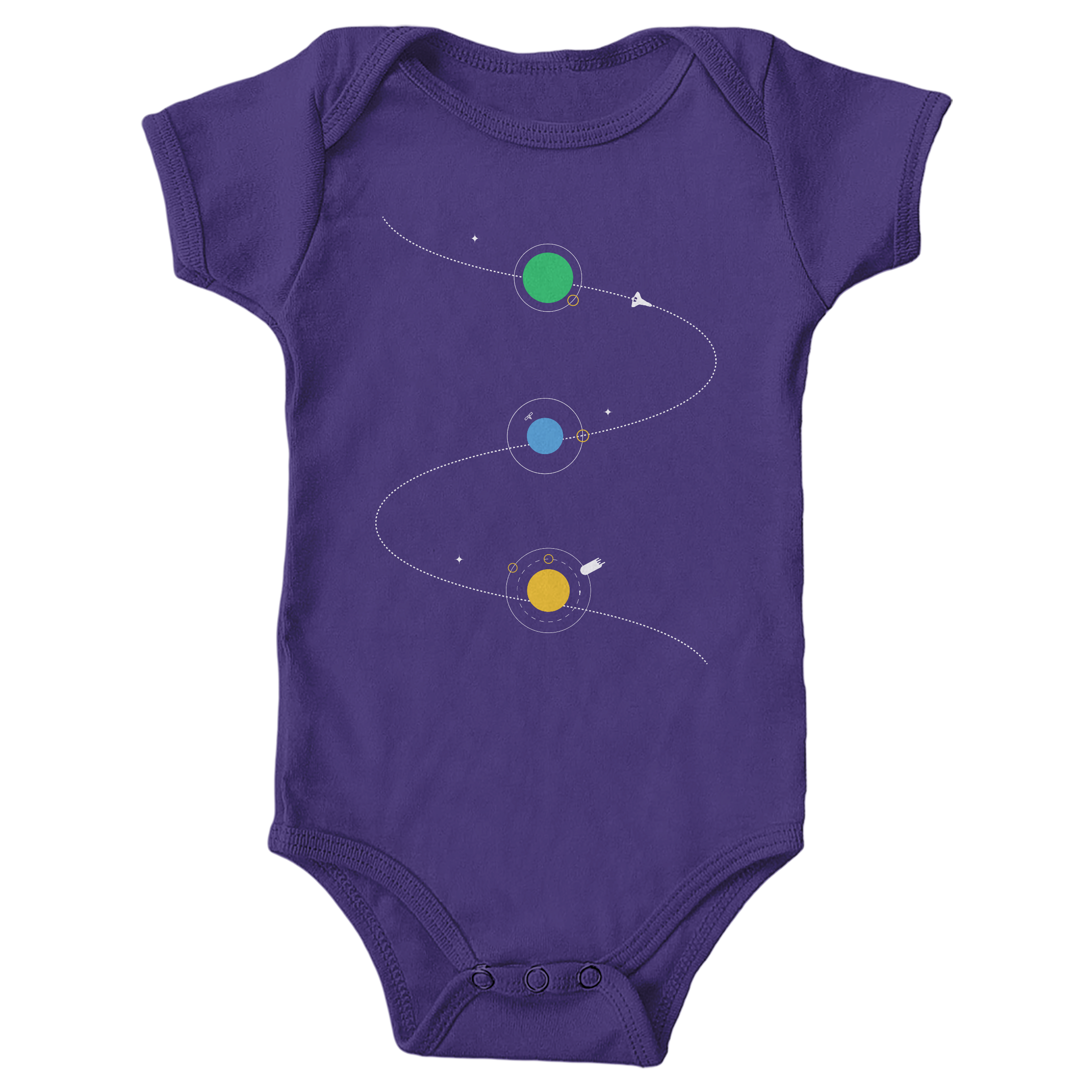 Space Adventure Purple (Onesie)