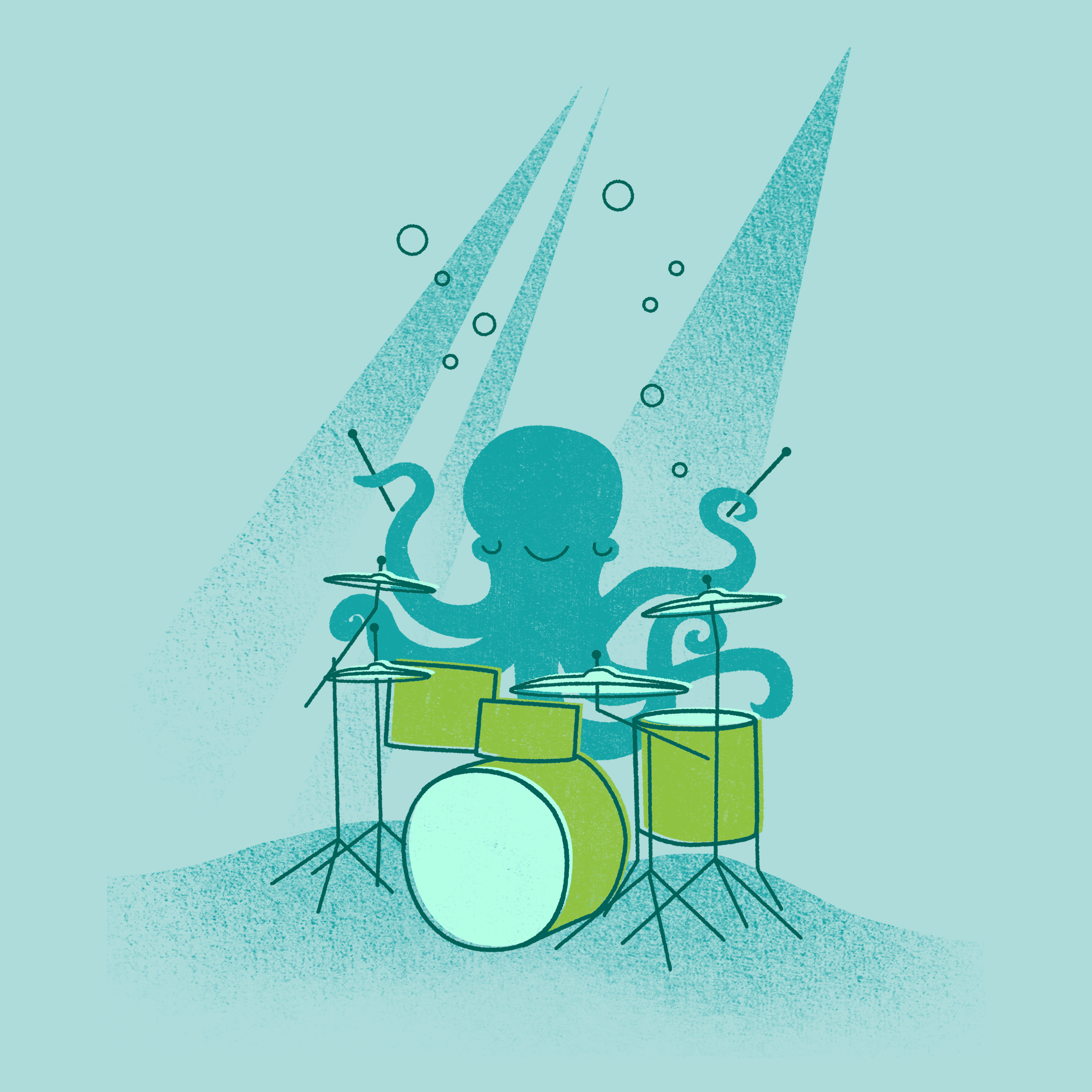 Under Sea Beats Detail