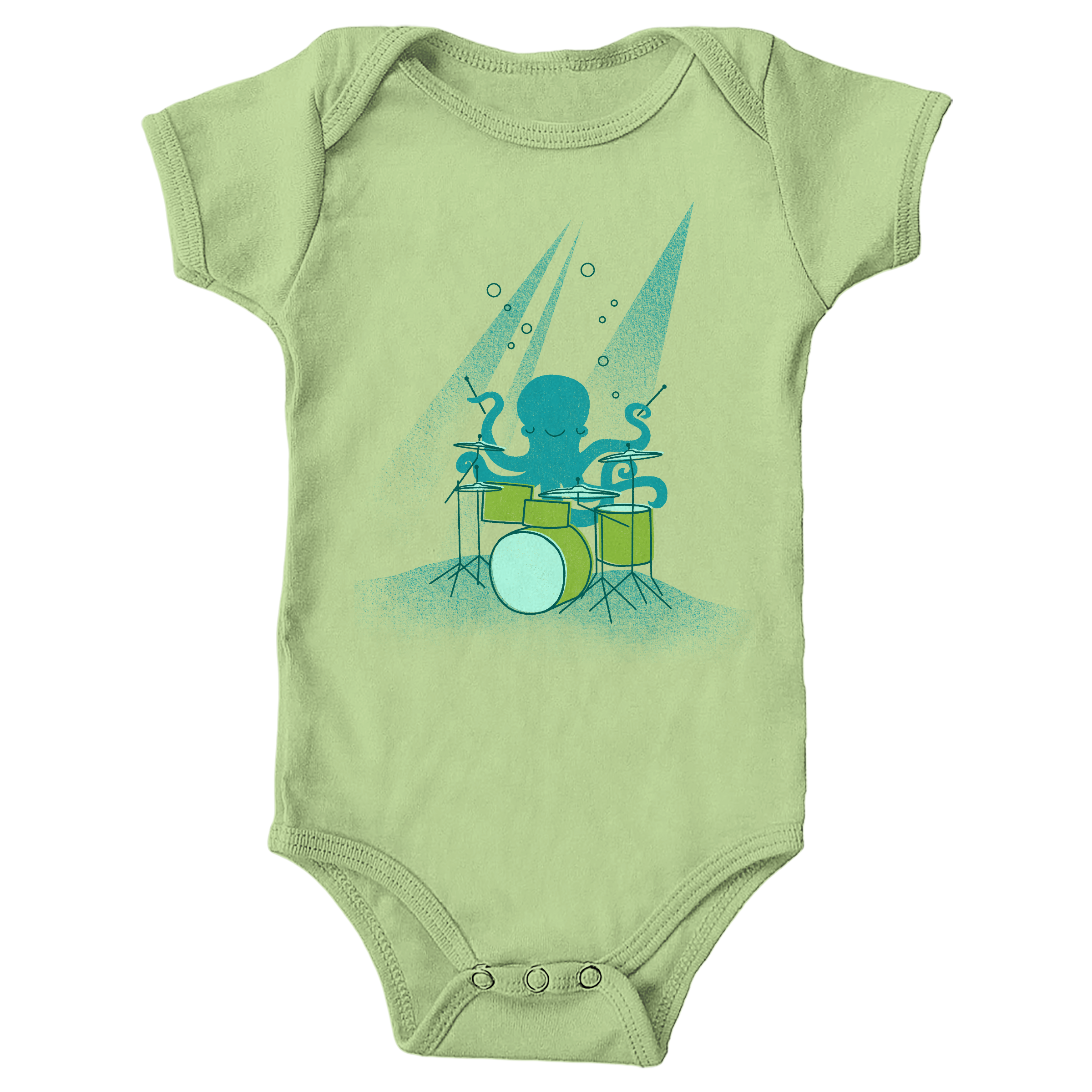Under Sea Beats Key Lime (Onesie)