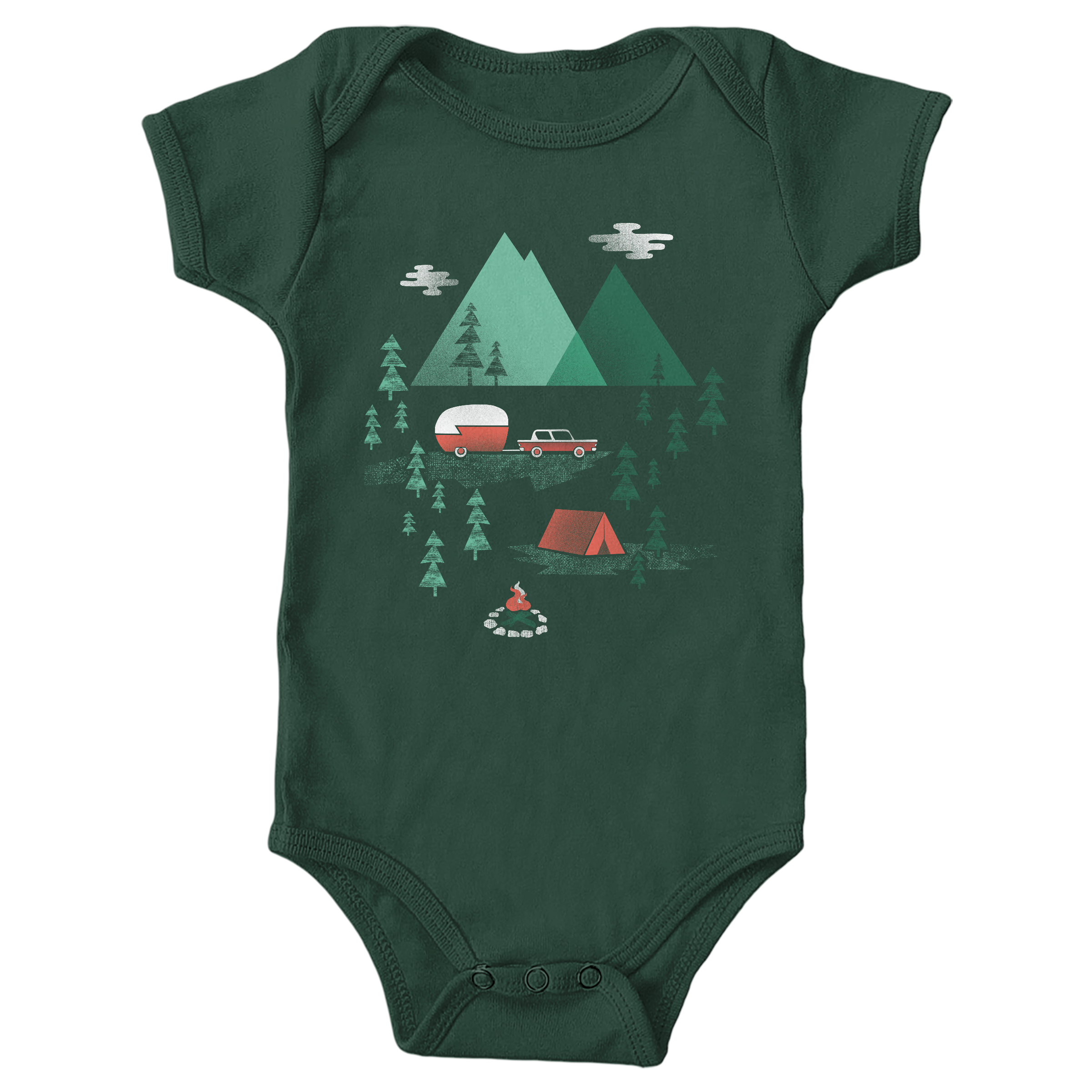 Pitch A Tent Forest (Onesie)
