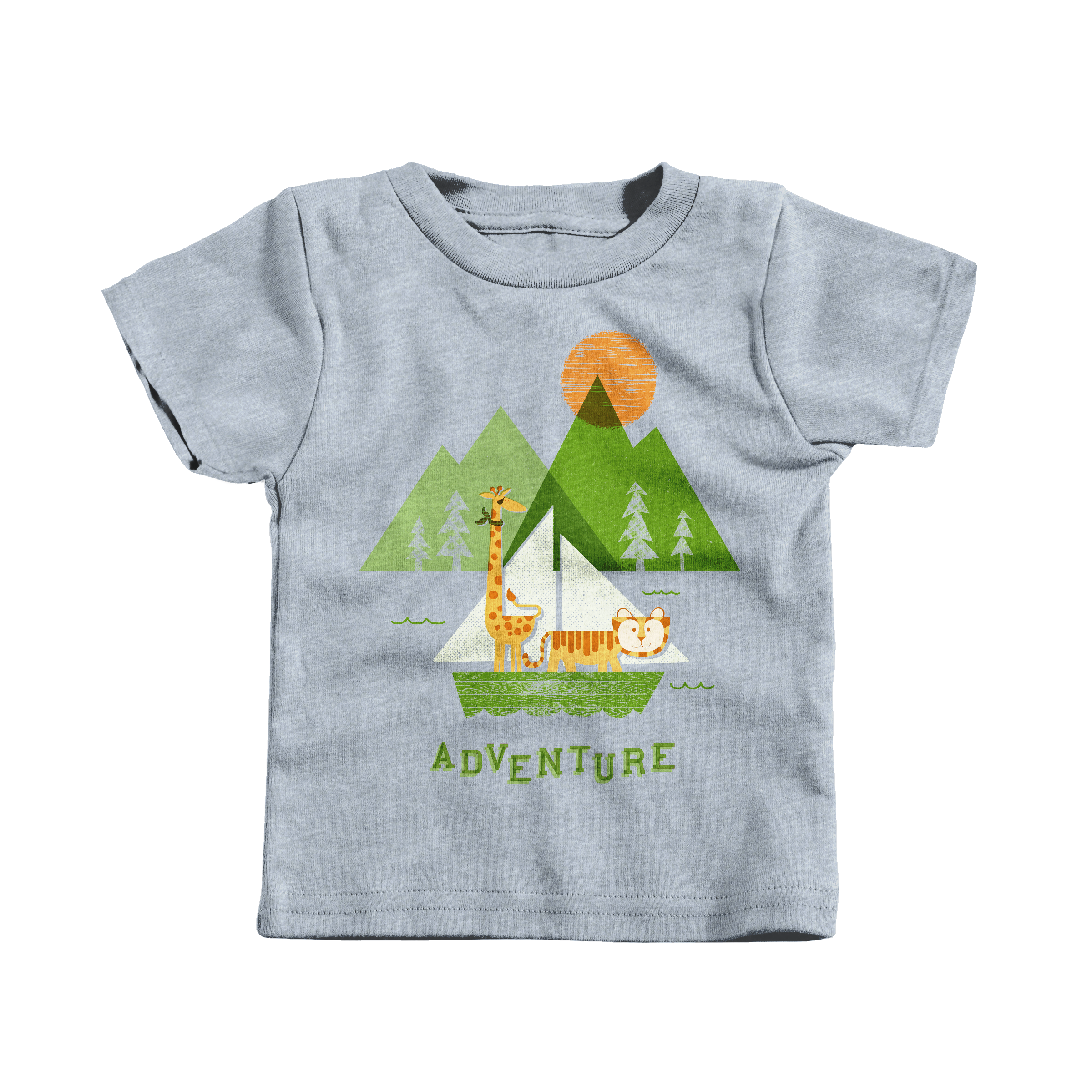 Adventure! Heather Grey (T-Shirt)
