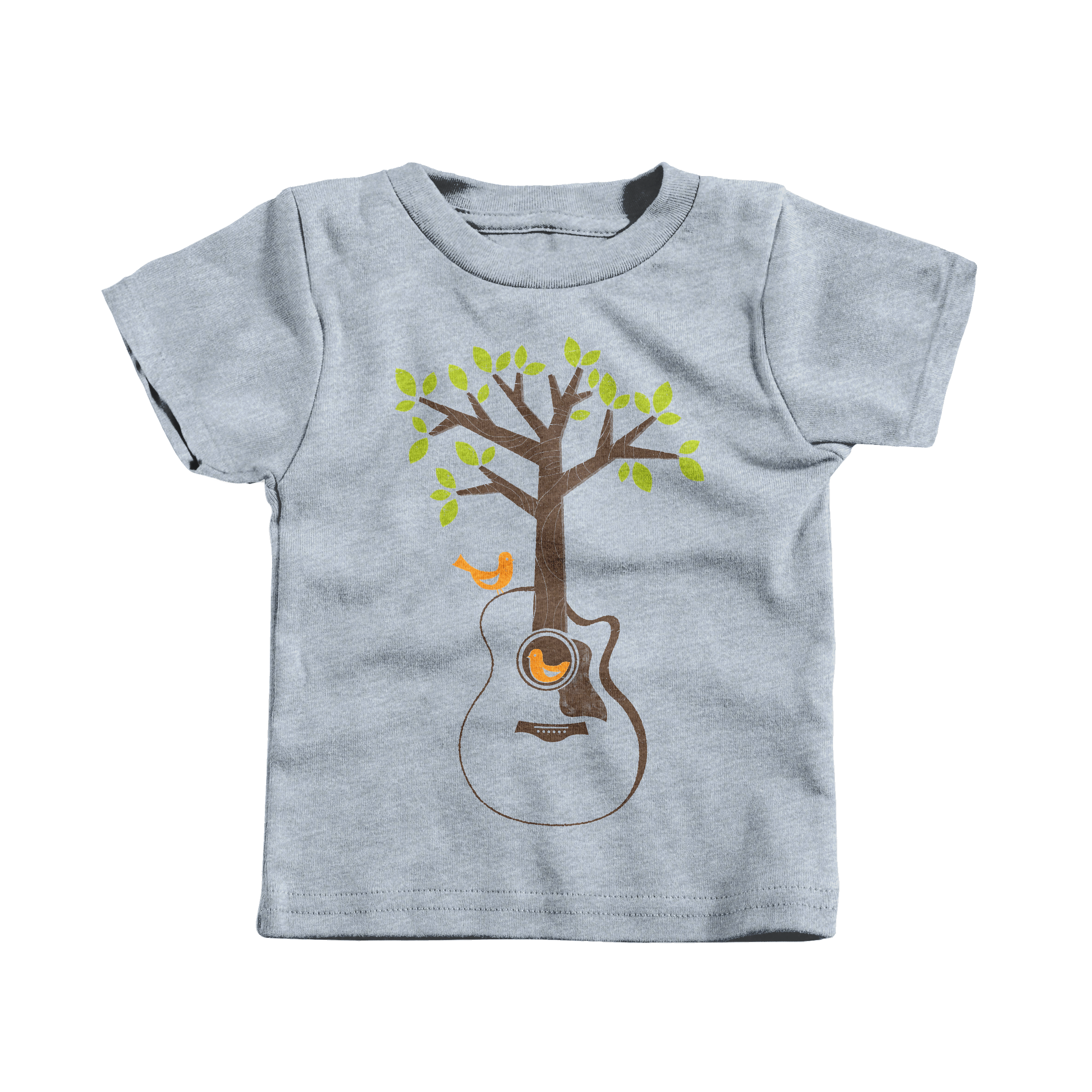 Acoustic Tree Heather Grey (T-Shirt)