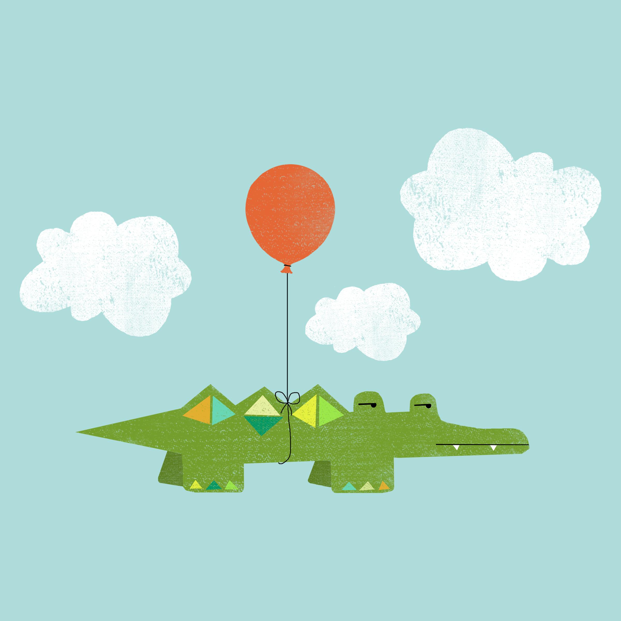 Flying Croc