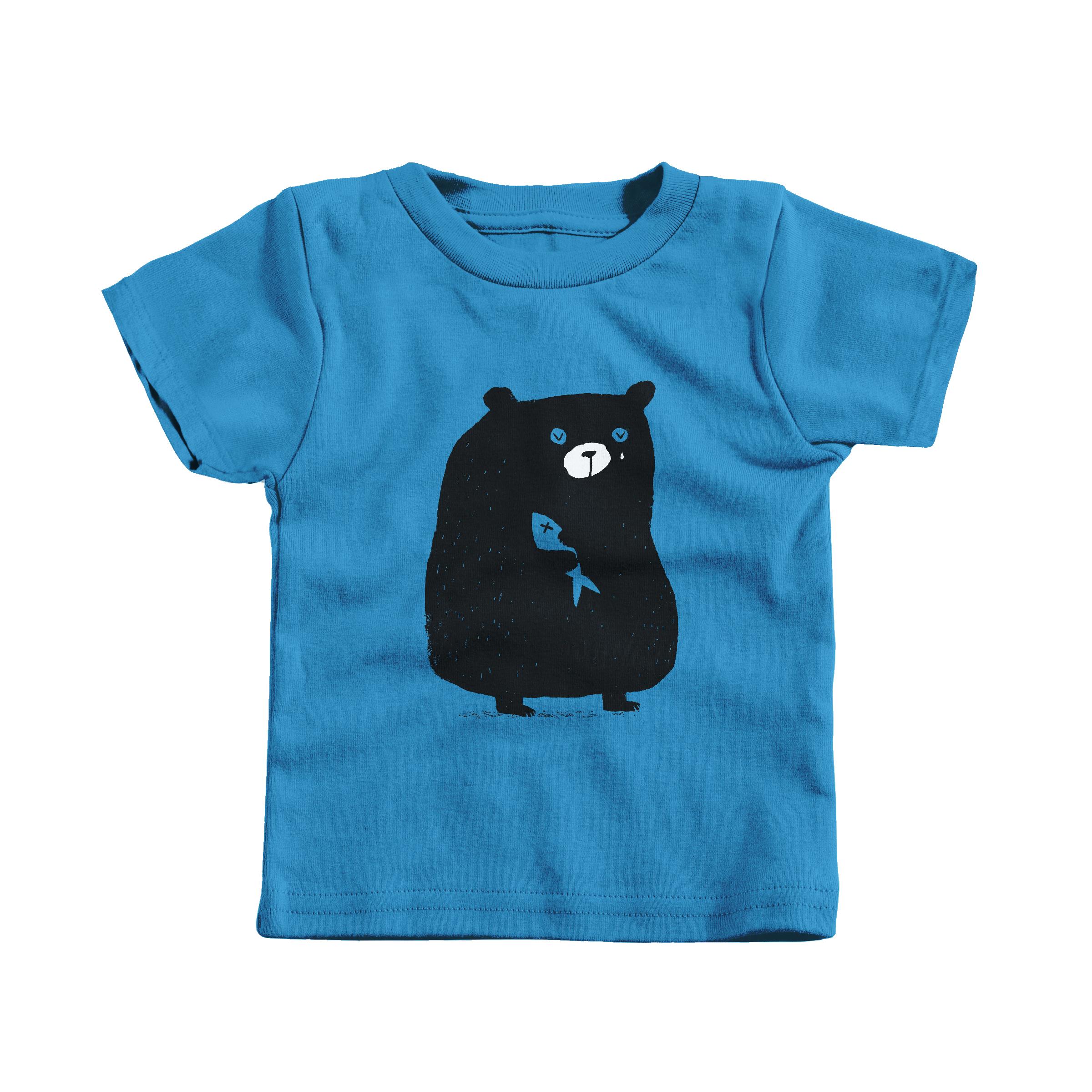 I'm Beary Sorry Cobalt (Infant)