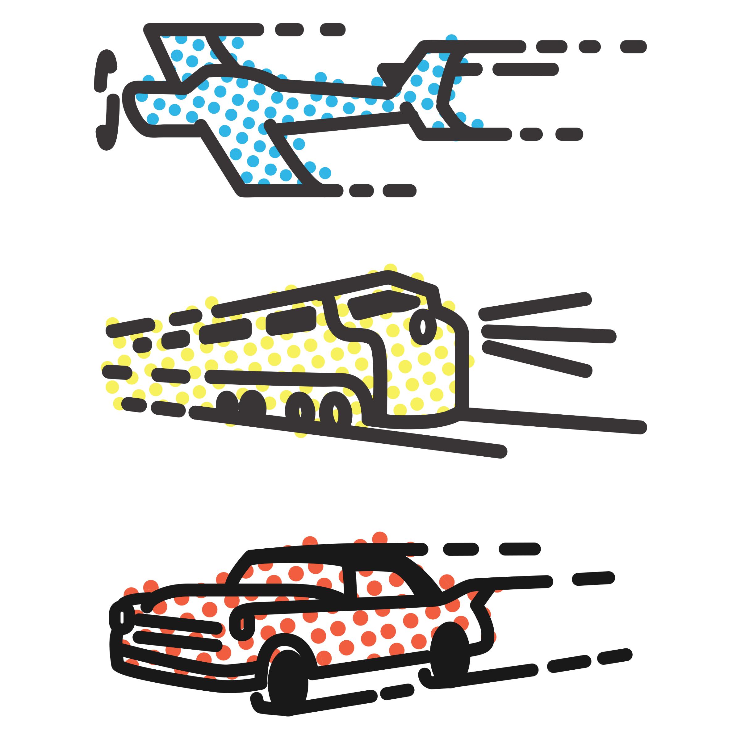 Plane, Train & Automobile Detail
