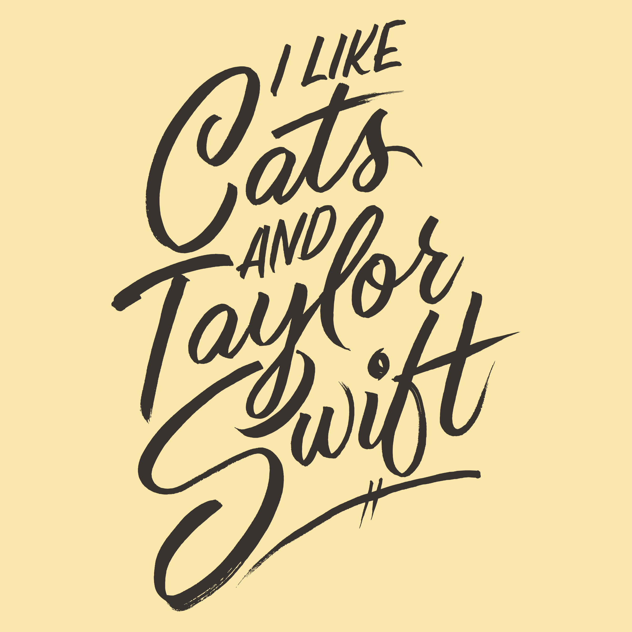 I Like Cats and Taylor Swift