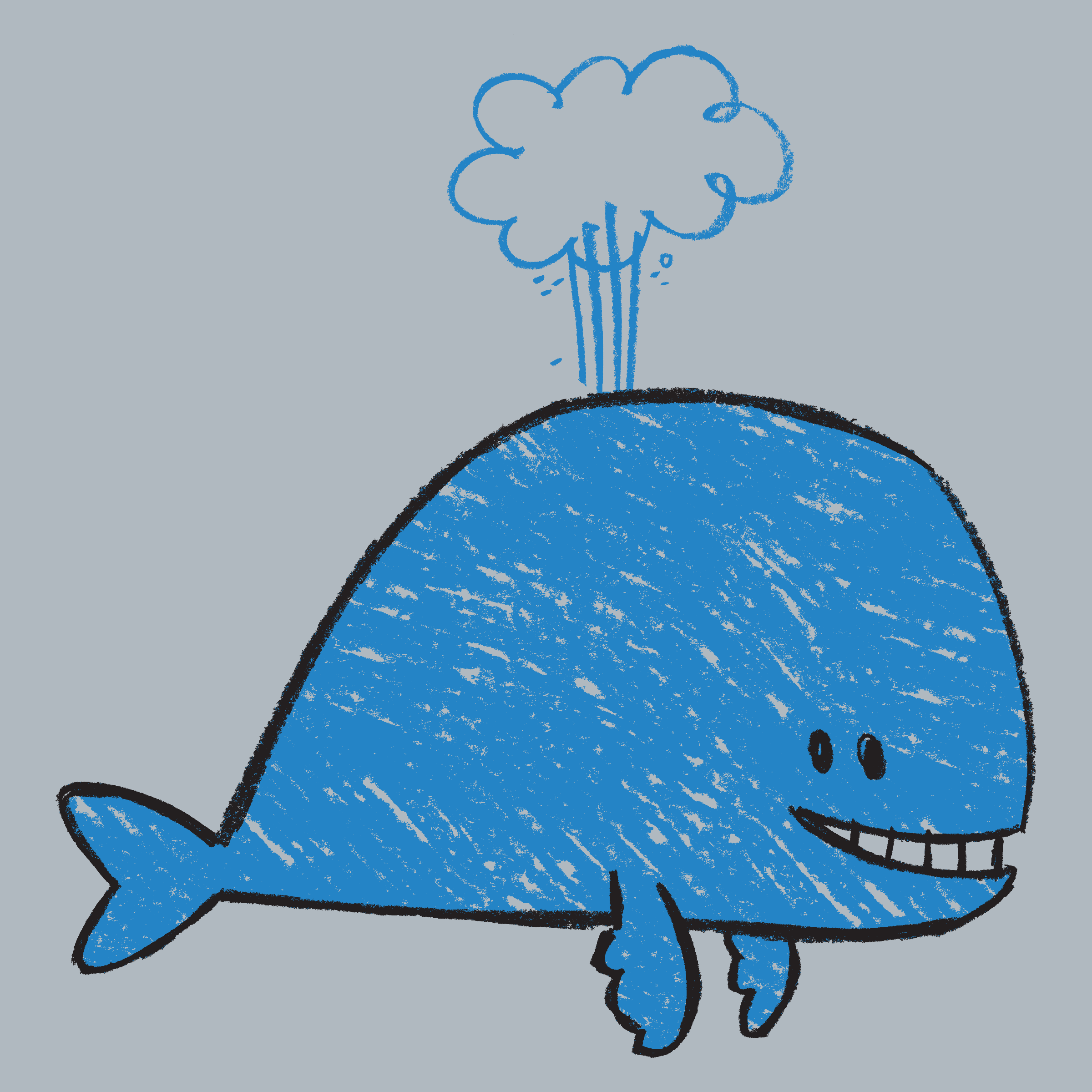 Crayon Whale