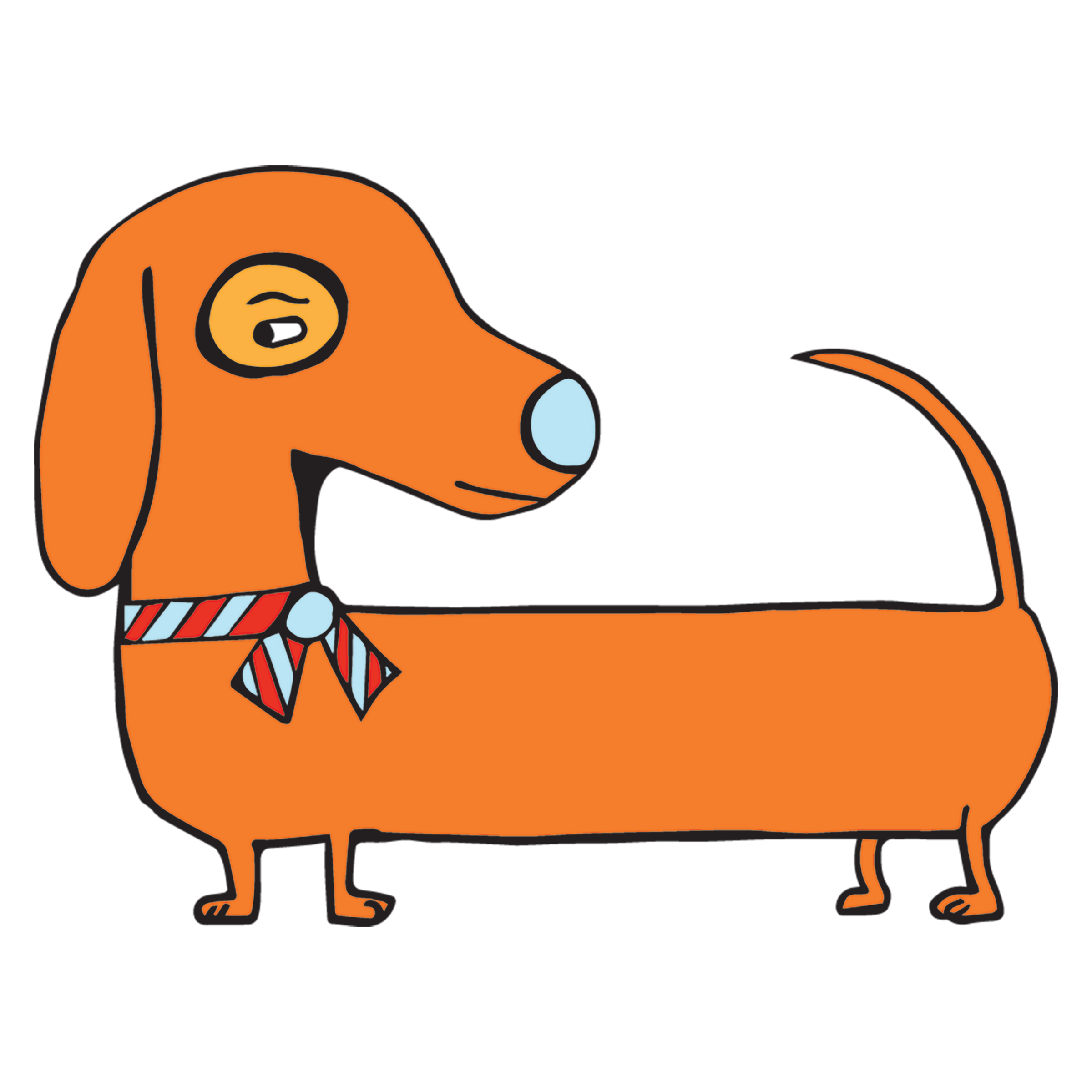 Crafty Wiener Dog
