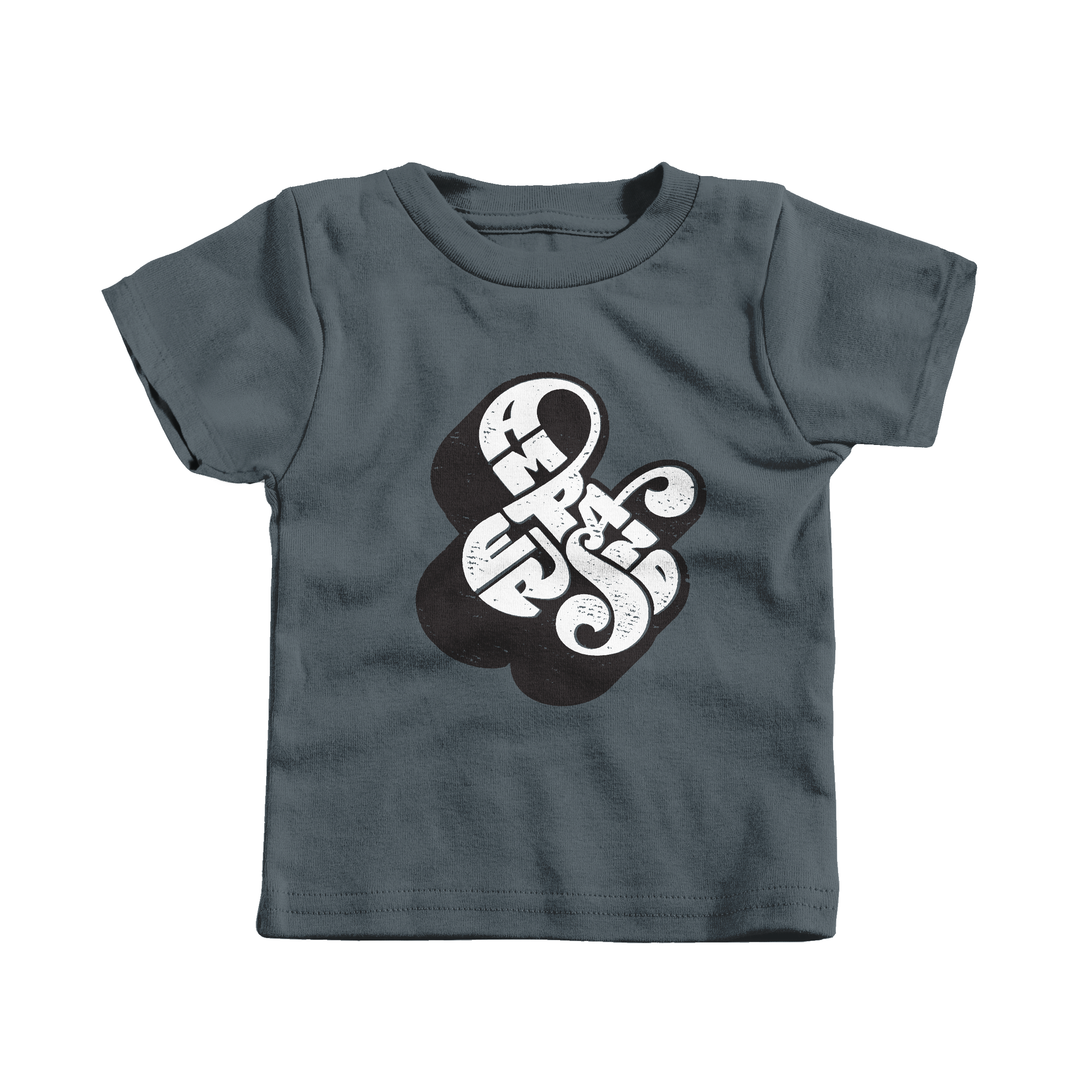Self-Referential Ampersand Charcoal (Infant)