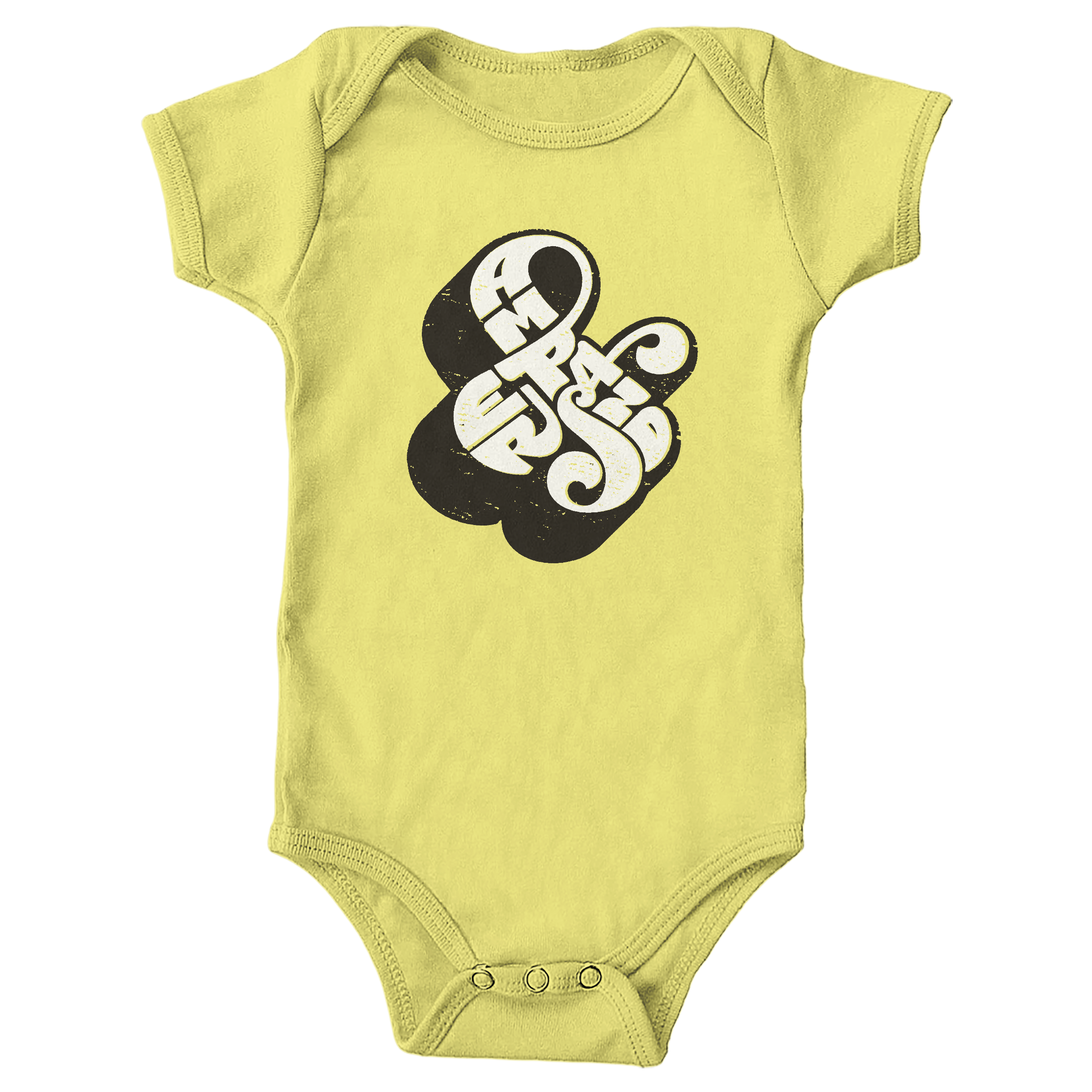 Self-Referential Ampersand Yellow (Onesie)