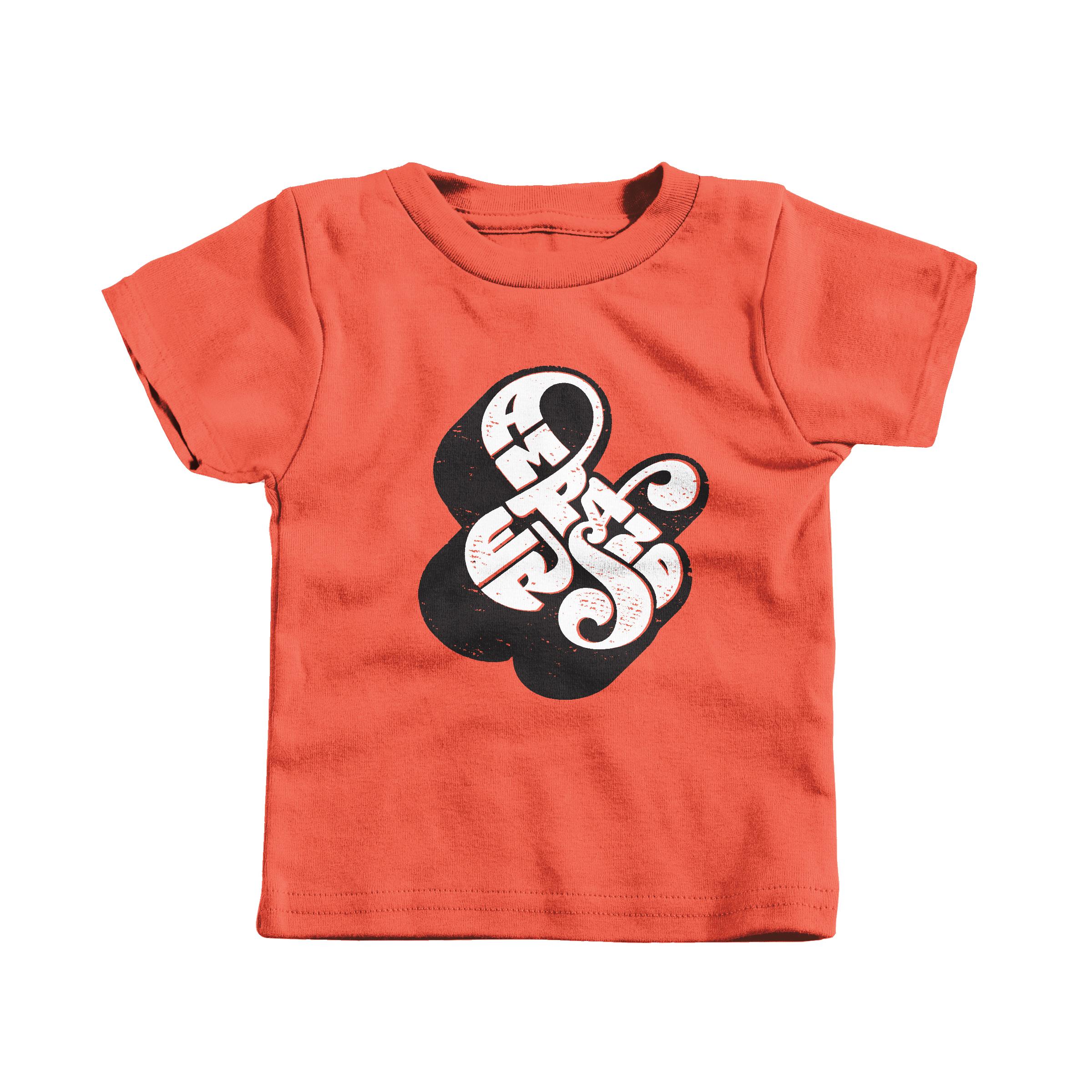 Self-Referential Ampersand Orange (Infant)