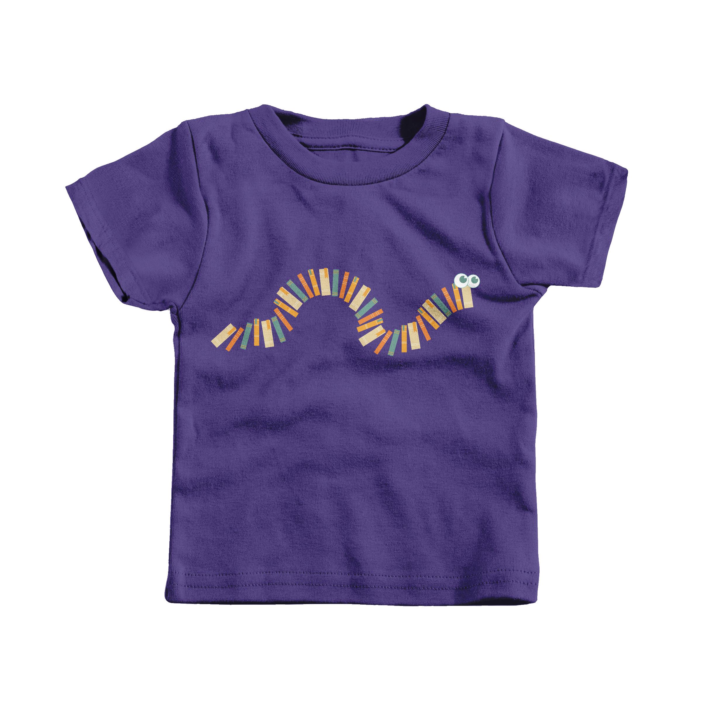 Bookworm Purple (Infant)