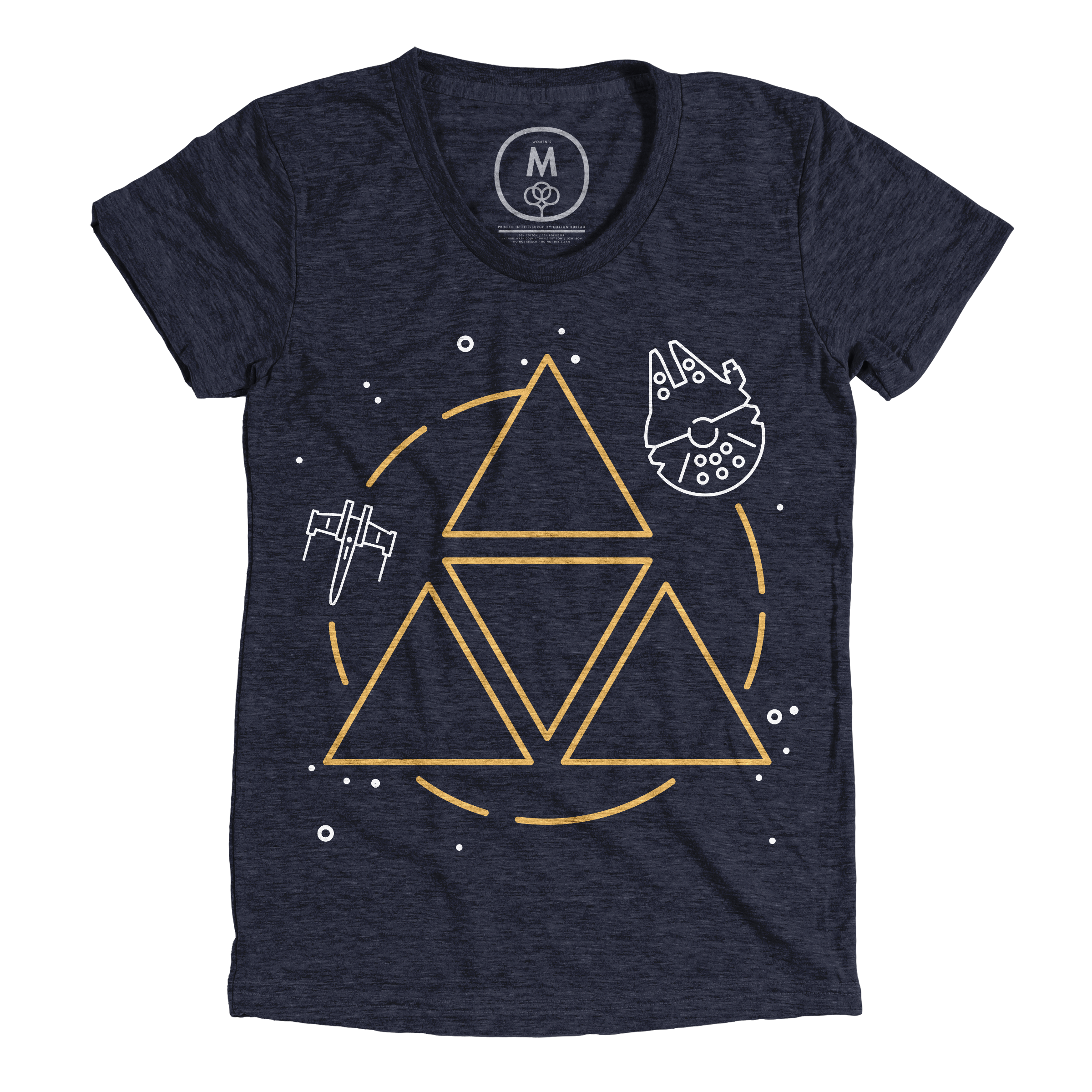 May The Force Be With You Vintage Navy (Women's)