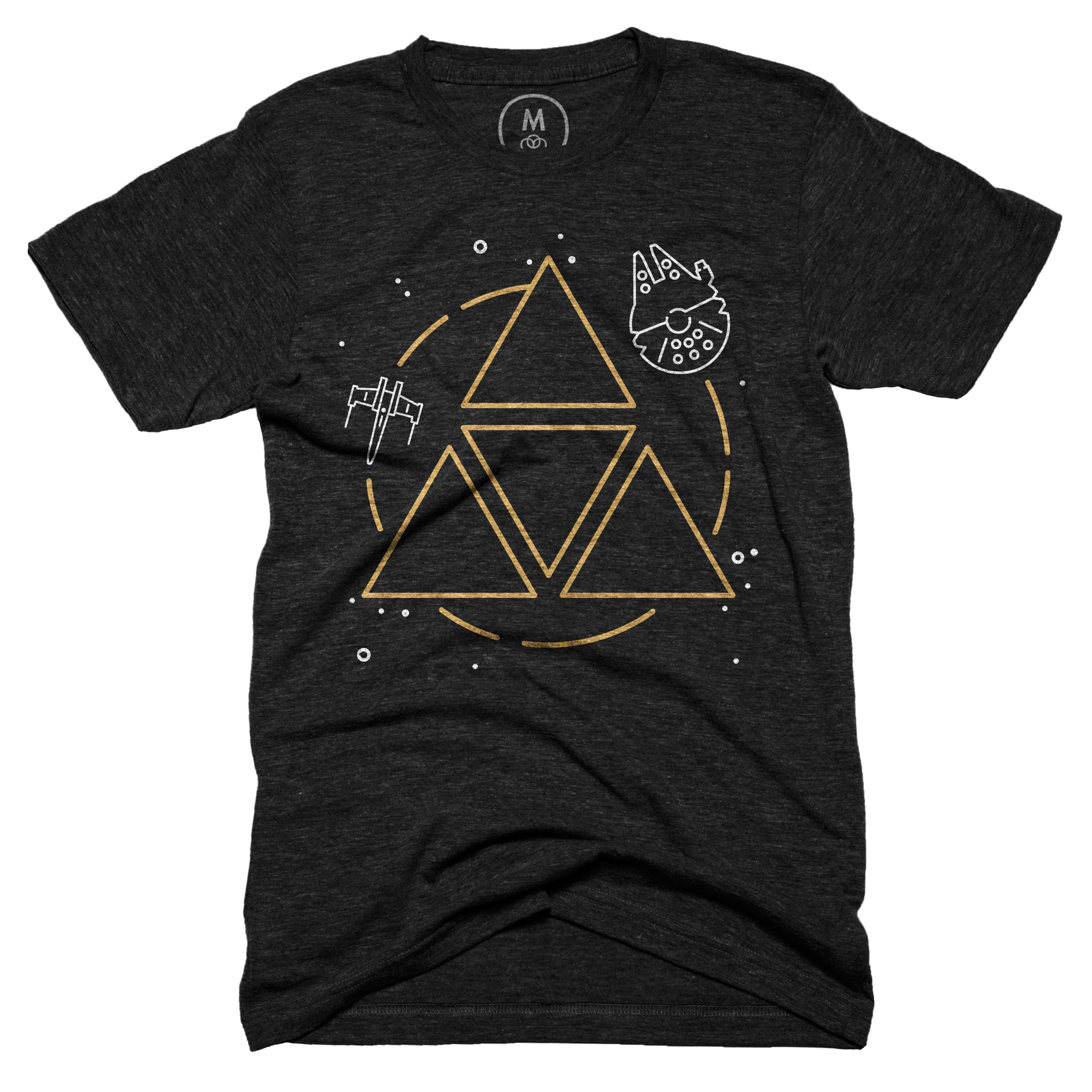 May The Force Be With You Vintage Black (Men's)