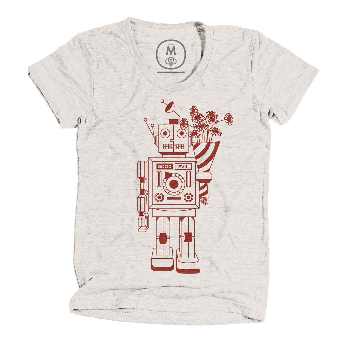 good robot graphic tee by james viola cotton bureau good robot graphic tee by james viola cotton bureau