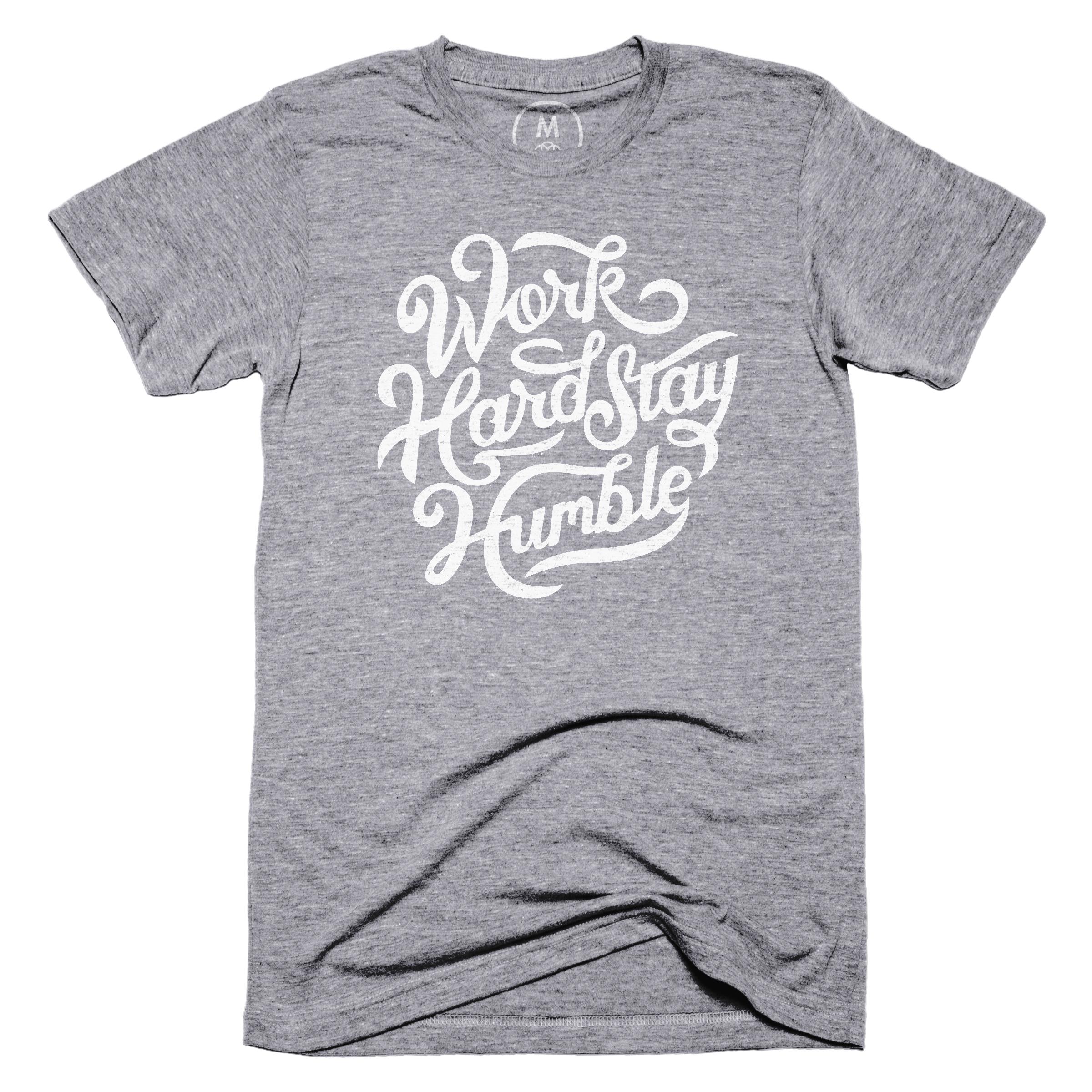 Work Hard Stay Humble Premium Heather (Men's)