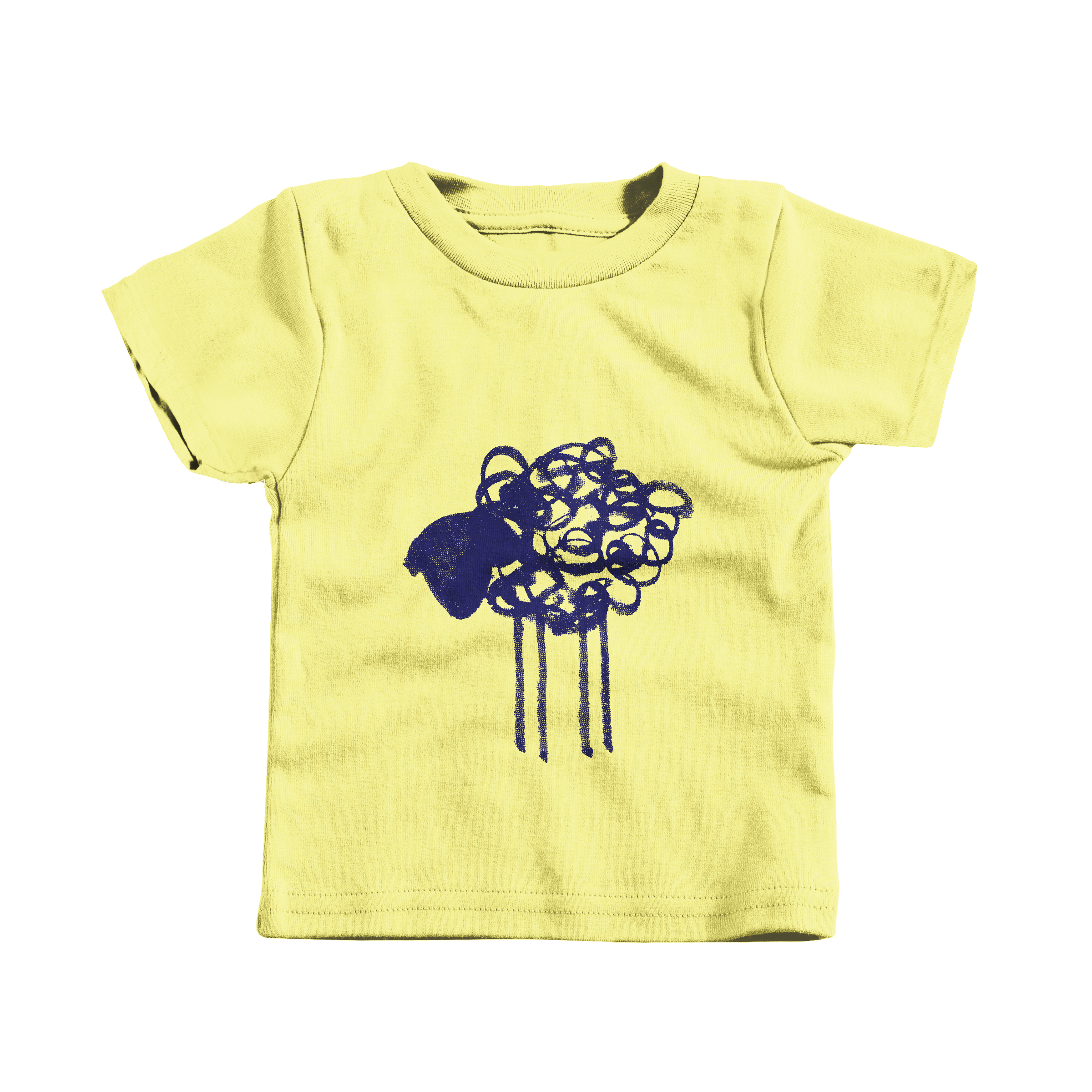 Scribble Sheep Yellow (T-Shirt)