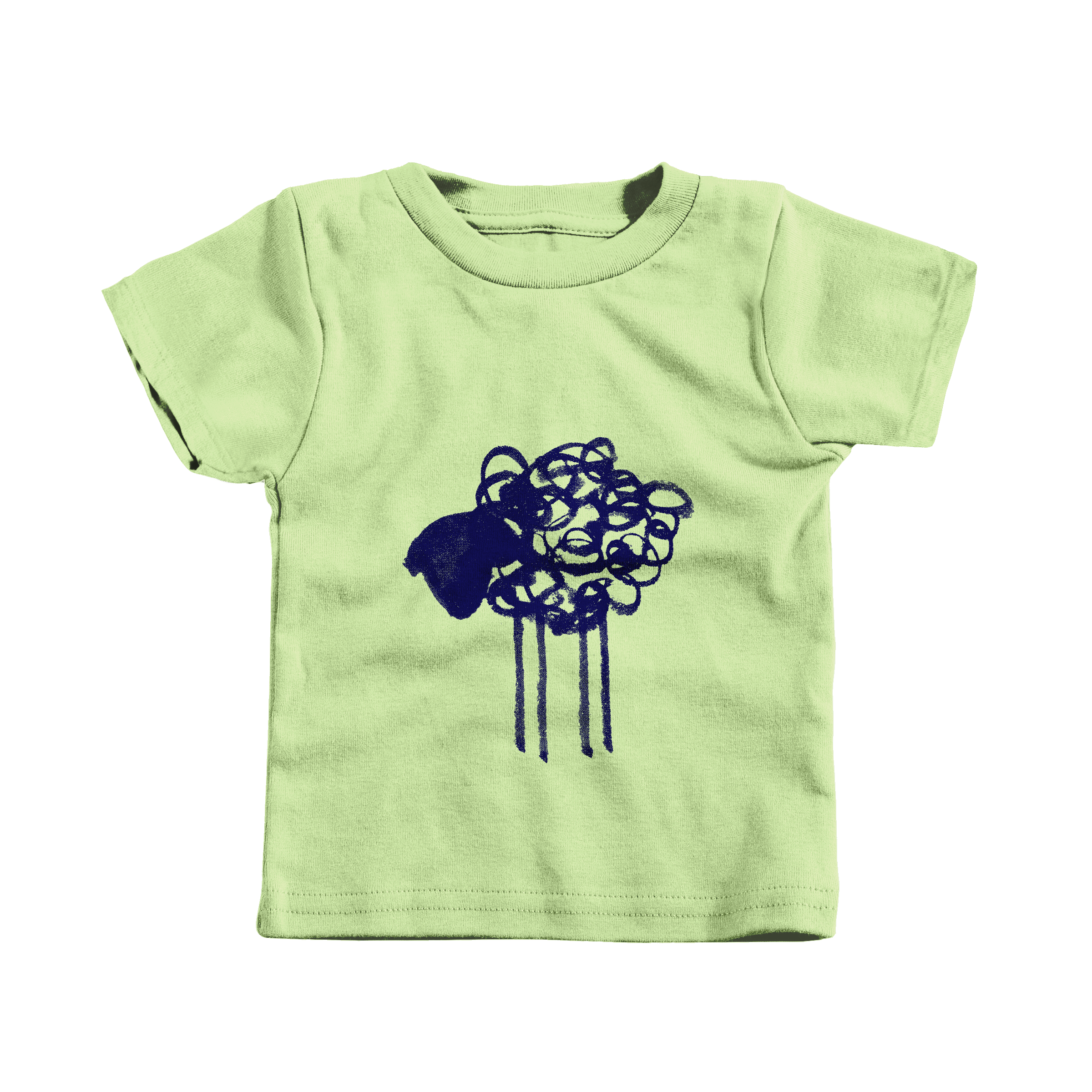 Scribble Sheep Key Lime (T-Shirt)