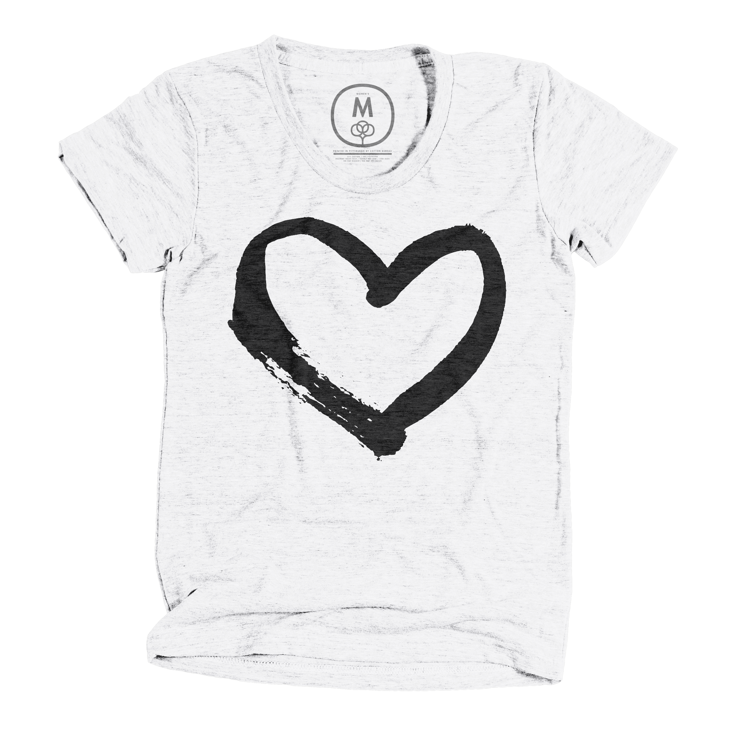 Have a heart! Heather White (Women's)