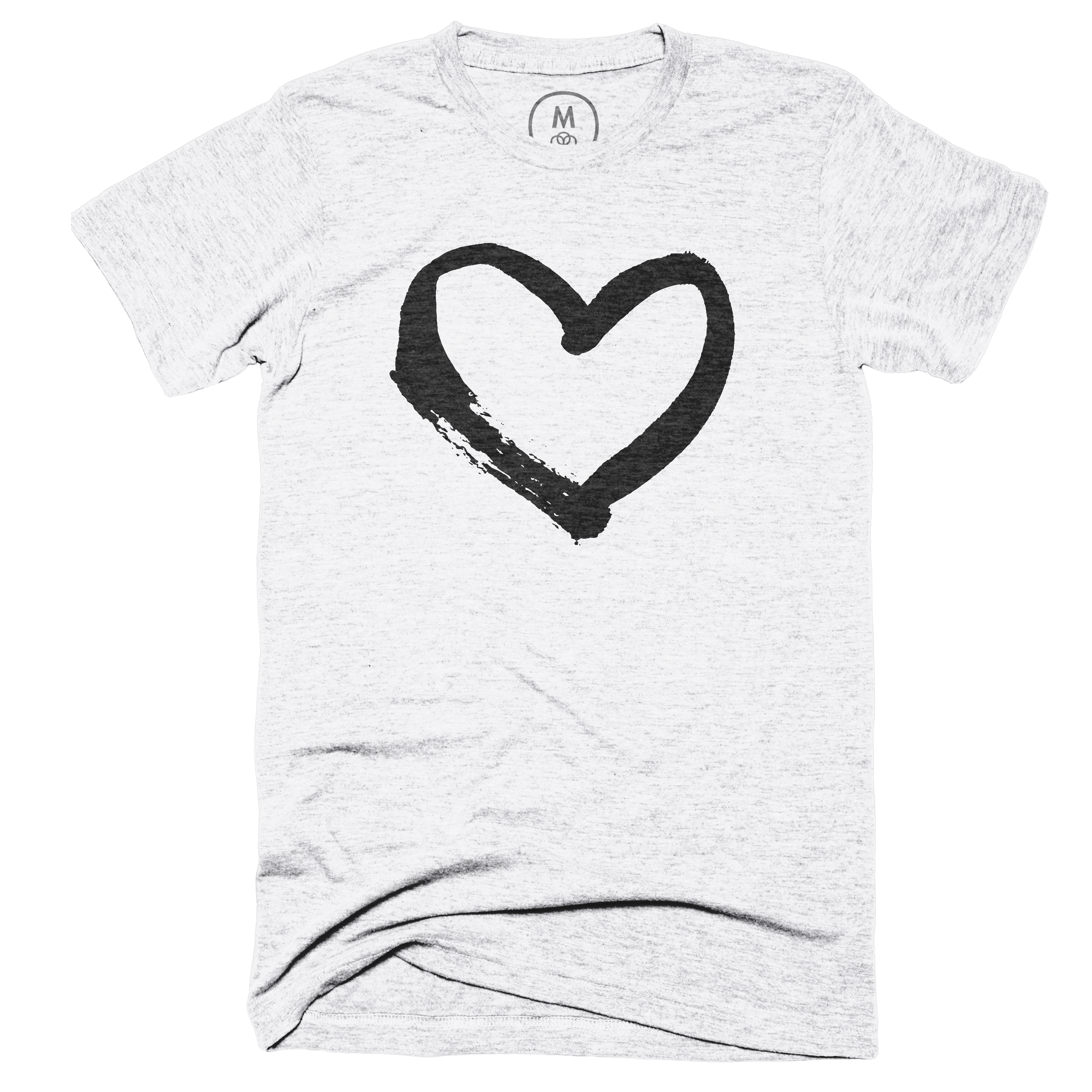 Have a heart! Heather White (Men's)