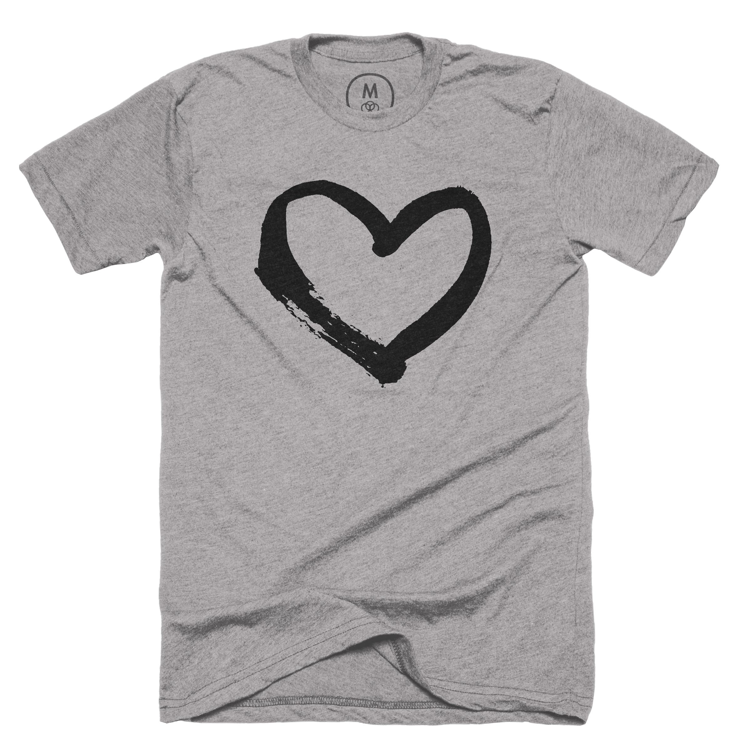 Have a heart! Dark Heather Grey (Men)