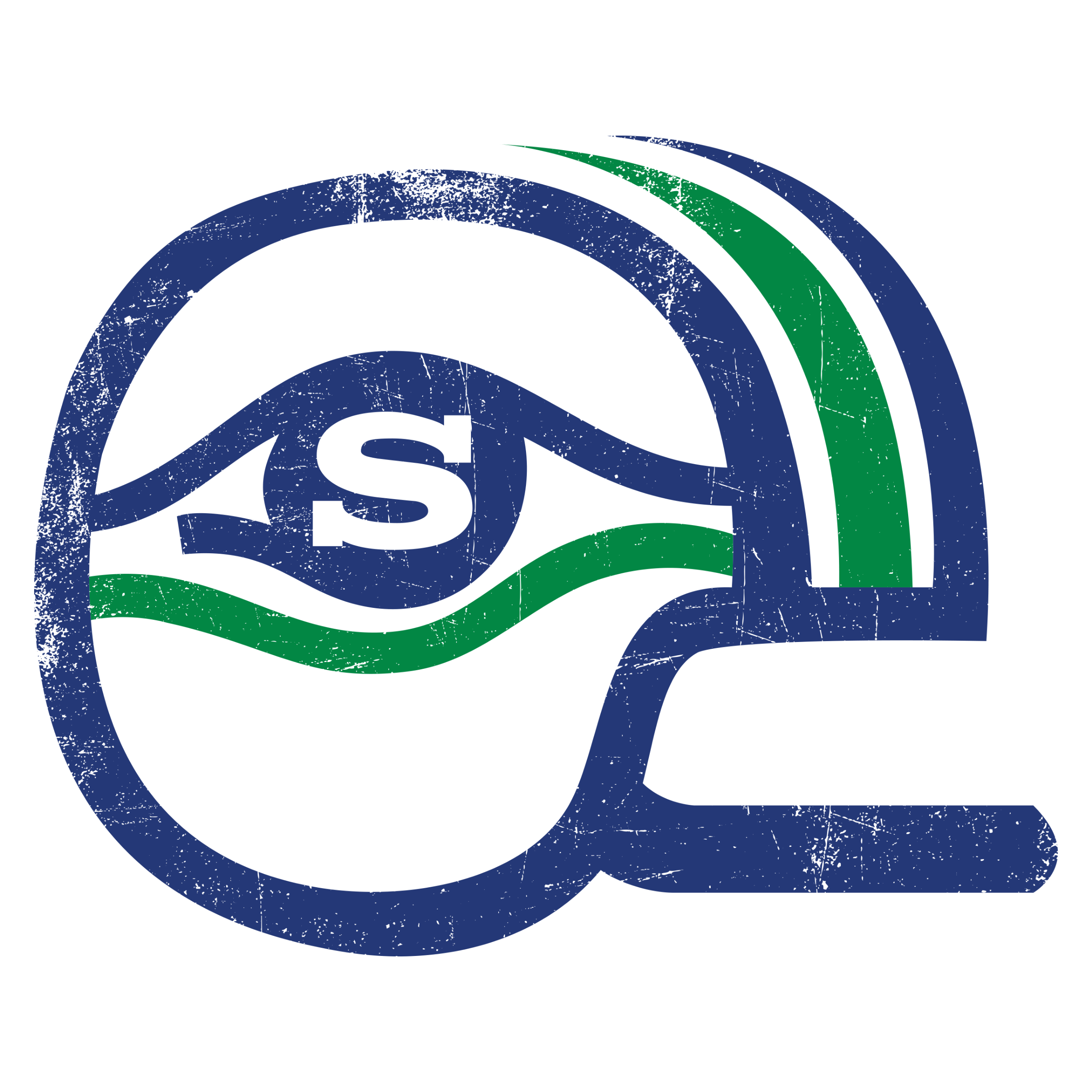 Vintage Seattle Helmet