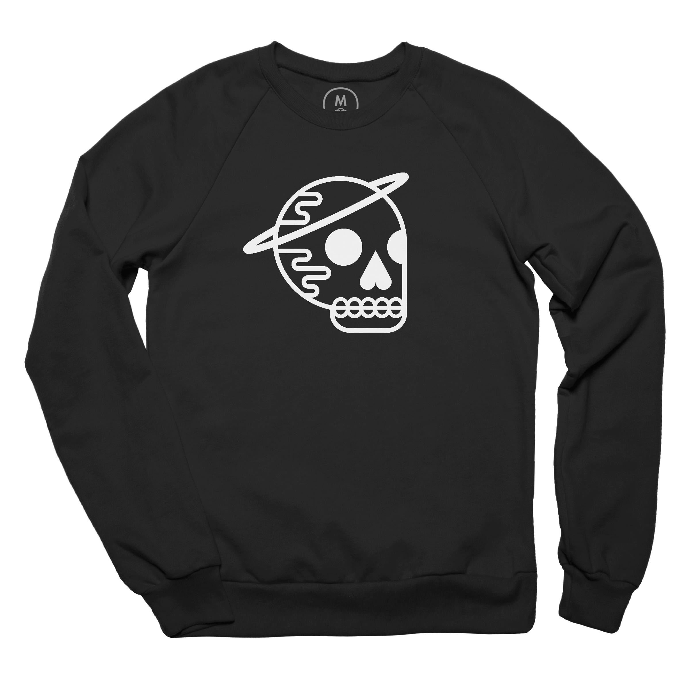 HASKU (Halo Skull) Pullover Crewneck