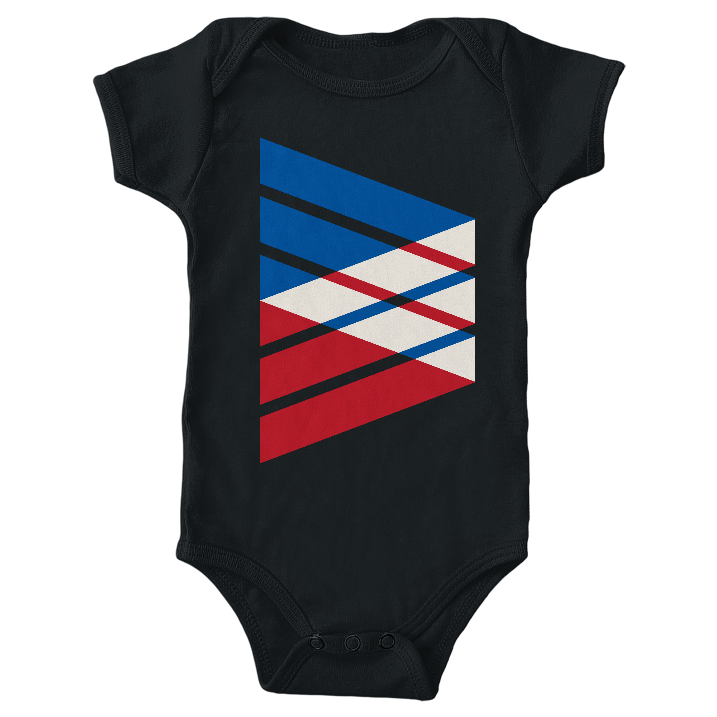 Tri-Band Black (Onesie)