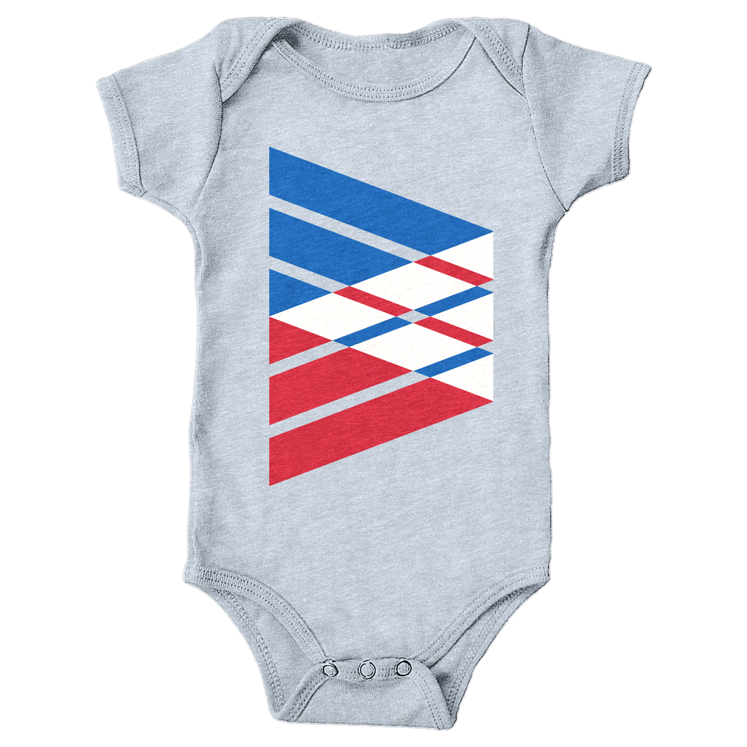 Tri-Band Heather Grey (Onesie)