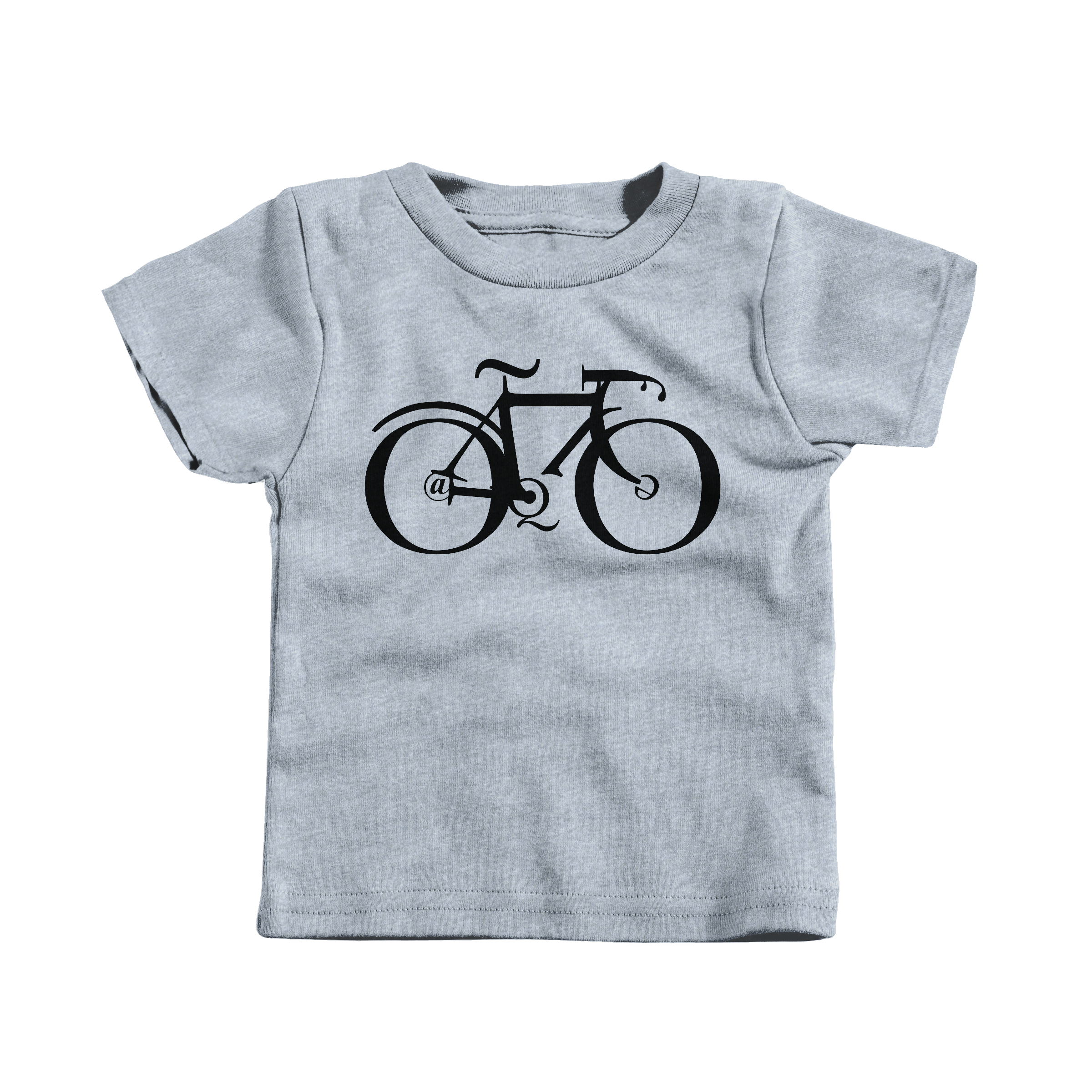 Type Bike Heather Grey (T-Shirt)