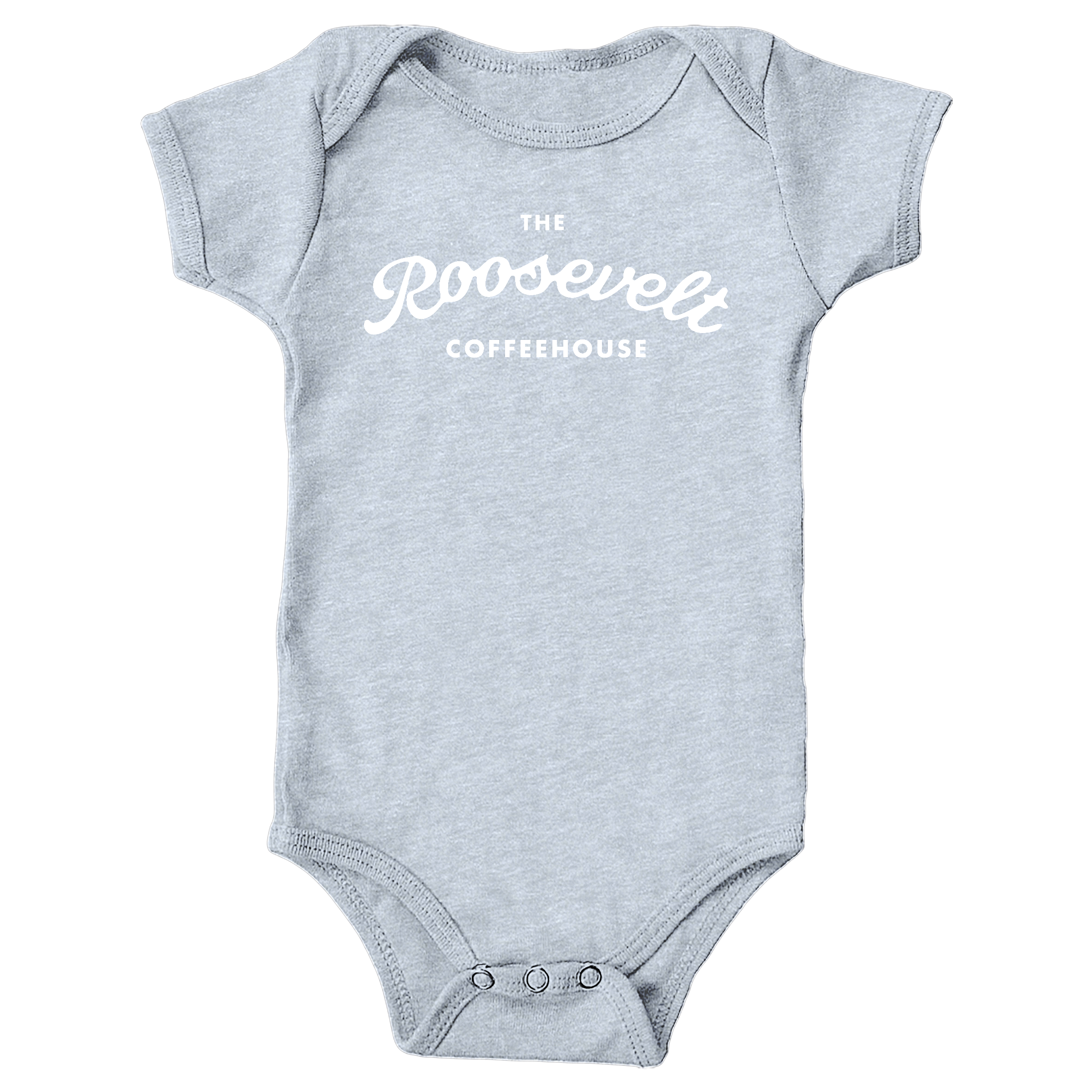 The Roosevelt Coffeehouse Heather Grey (Onesie)