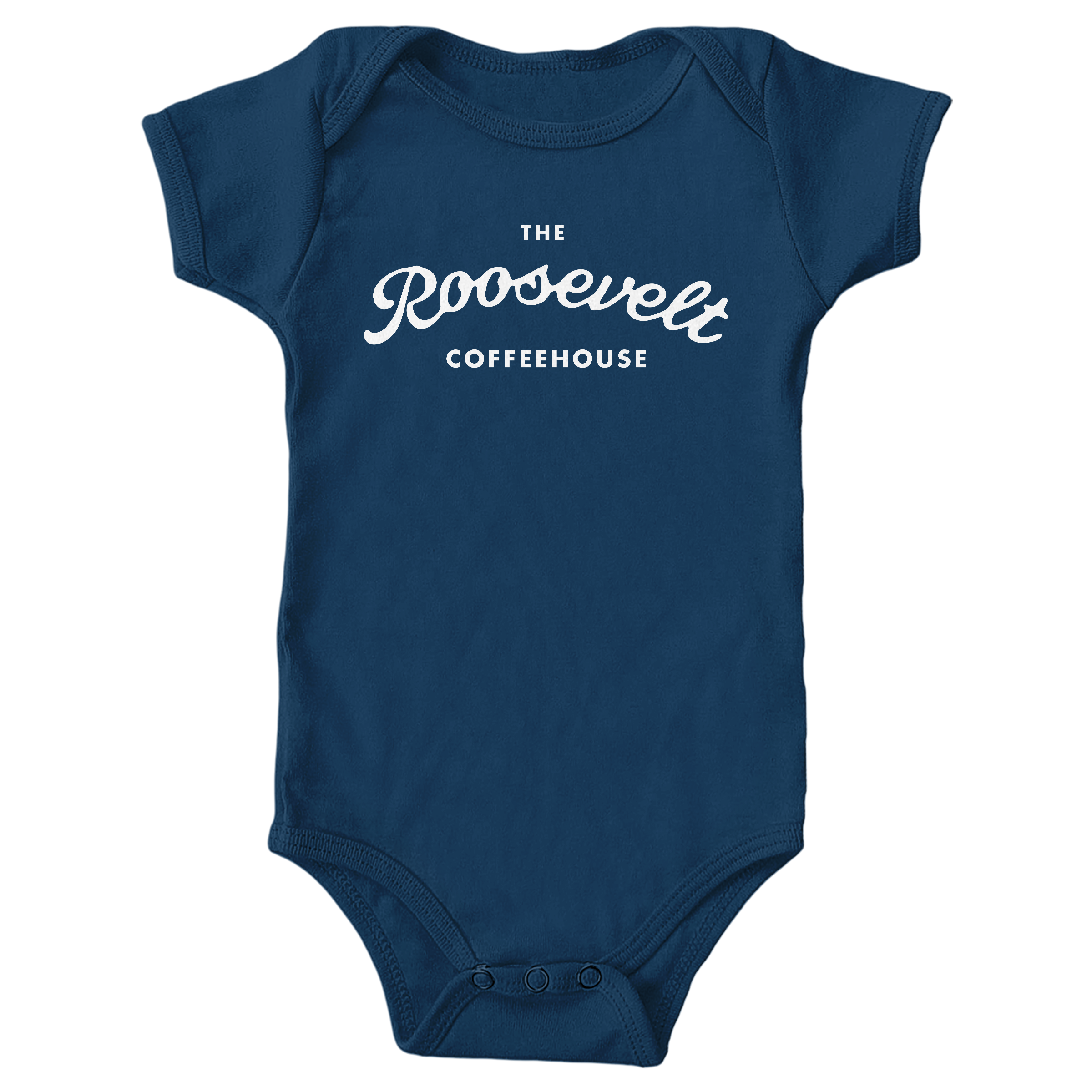 The Roosevelt Coffeehouse Navy (Onesie)