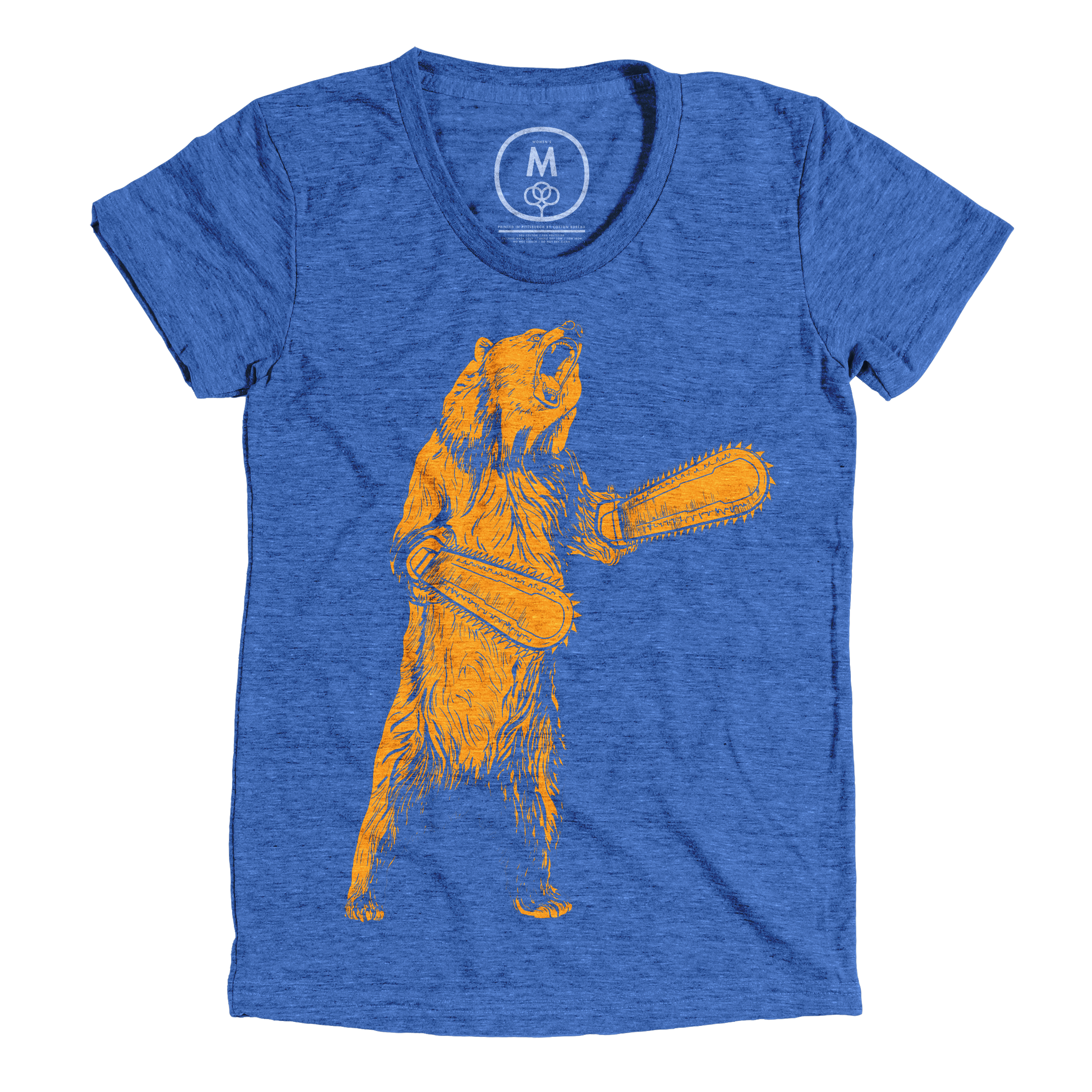 The Right To Bear Chainsaw Arms Vintage Royal (Women's)
