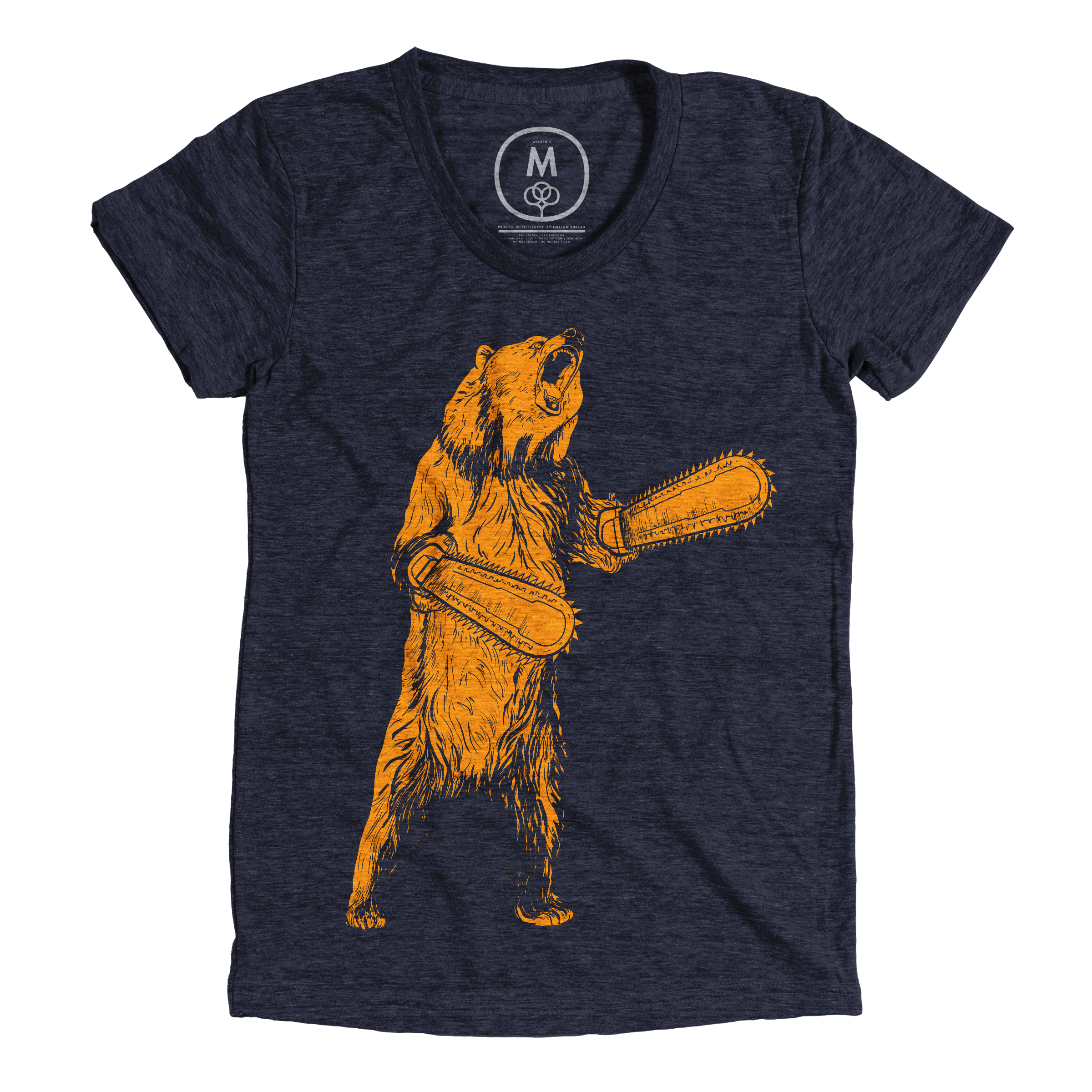 The Right To Bear Chainsaw Arms Vintage Navy (Women's)