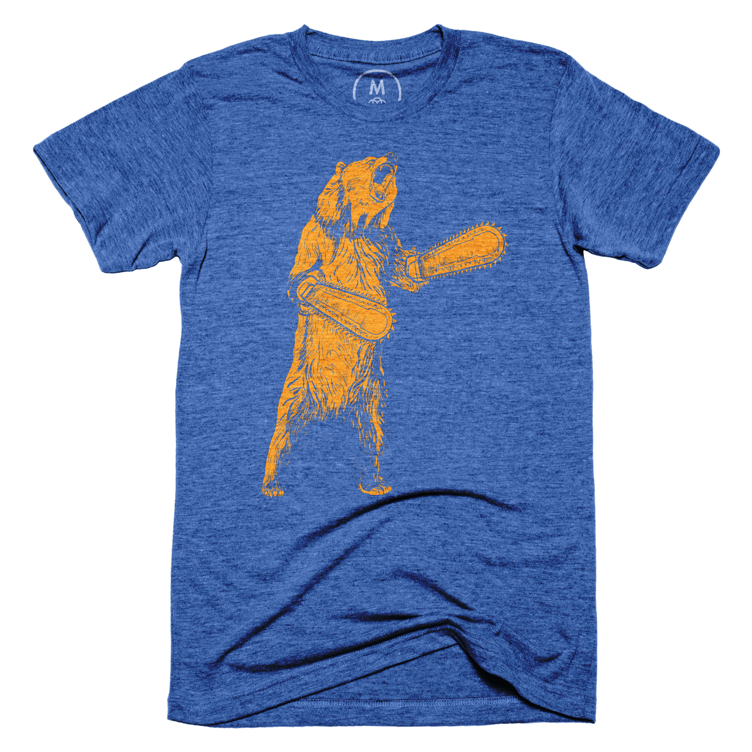 The Right To Bear Chainsaw Arms Vintage Royal (Men's)