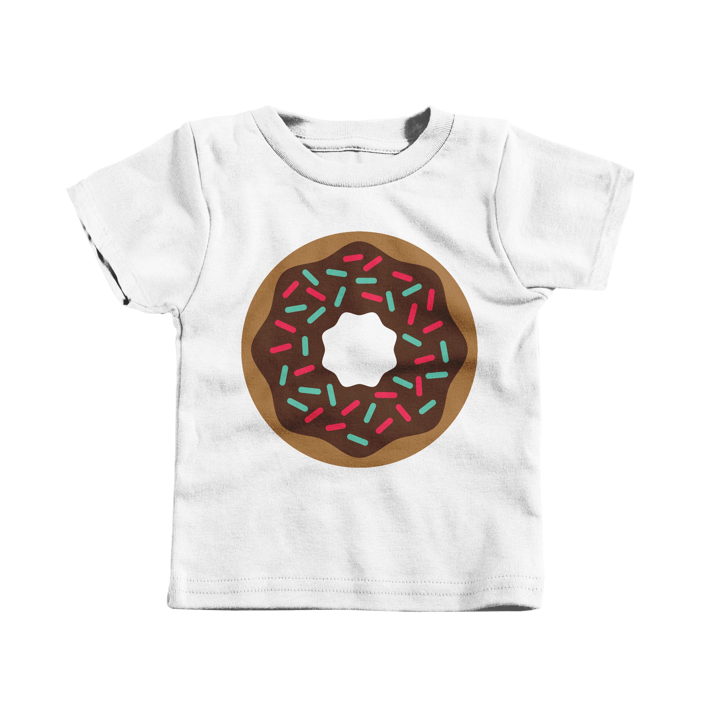 Donut White (T-Shirt)