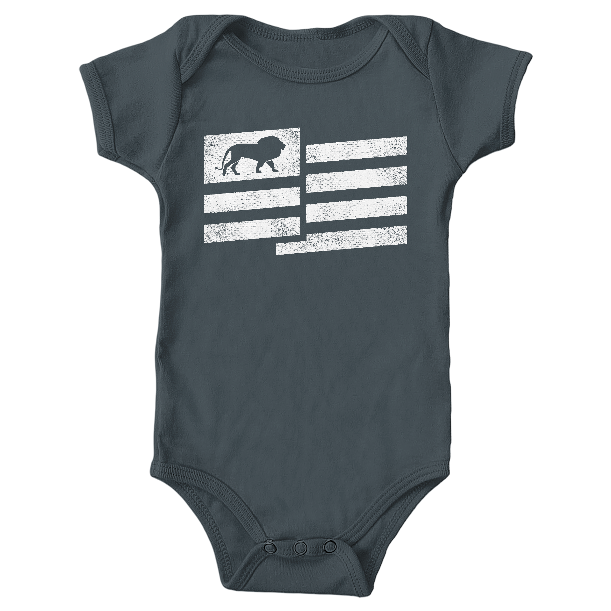 Lion Nation Charcoal (Onesie)