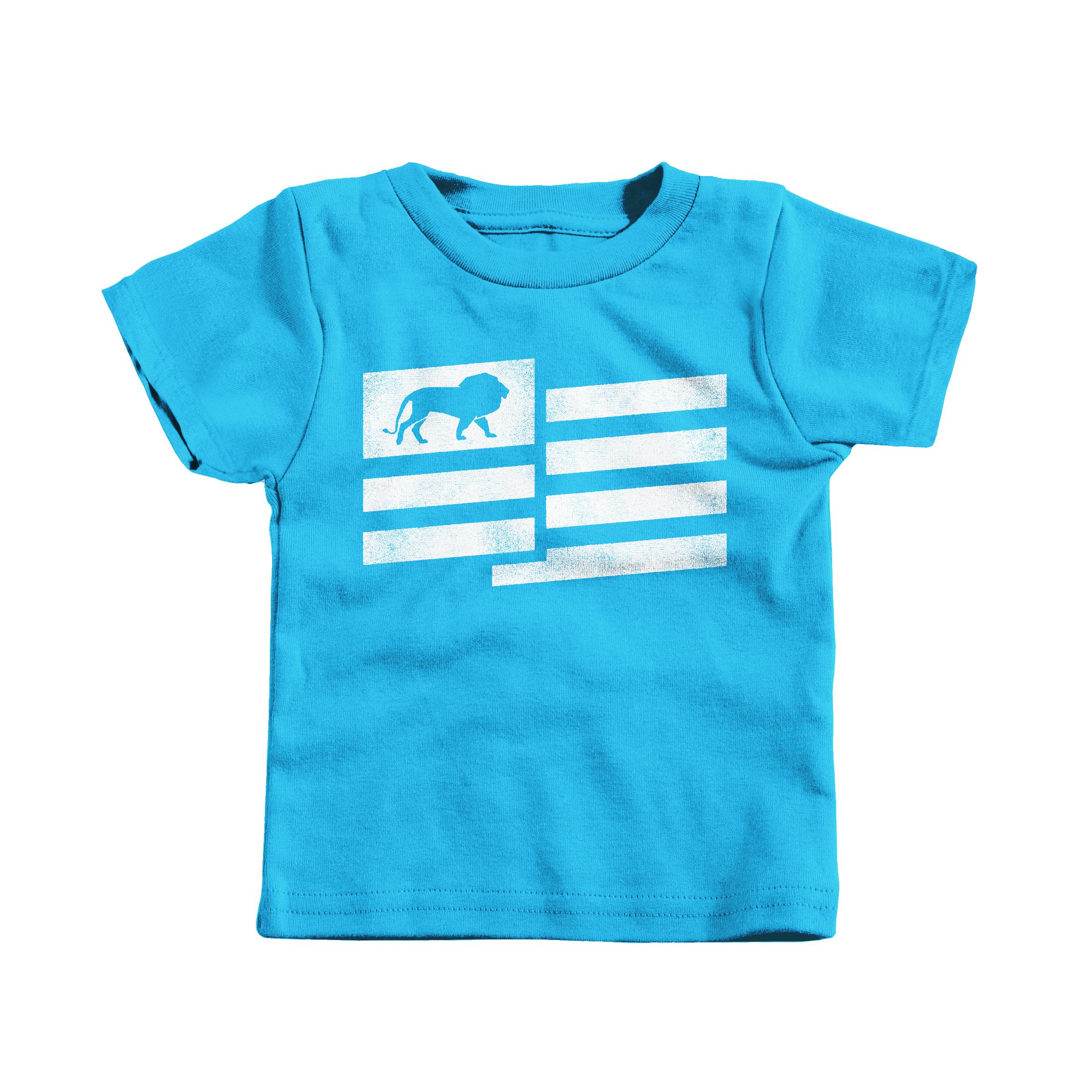 Lion Nation Turquoise (T-Shirt)