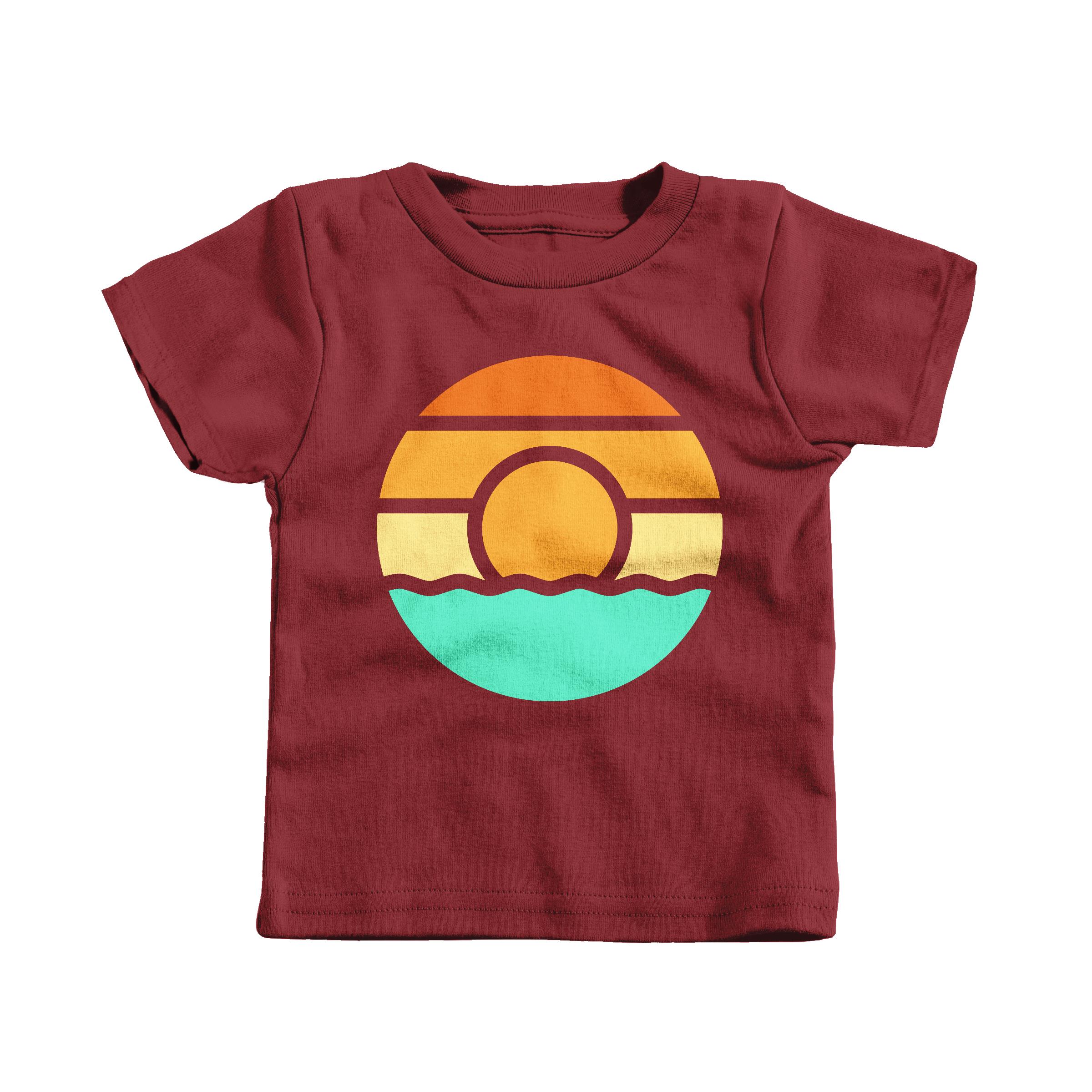 Lake Sunset Garnet (T-Shirt)