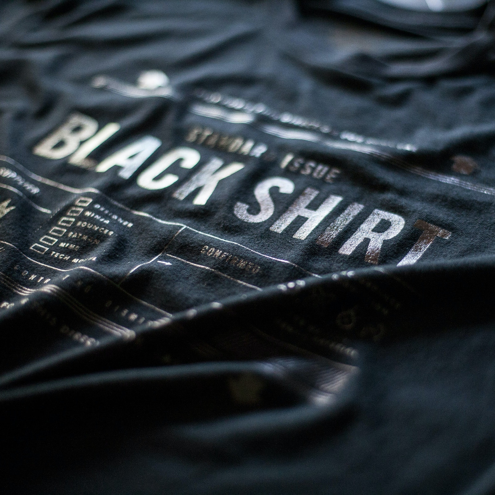 Standard Issue Black Shirt - Black Friday