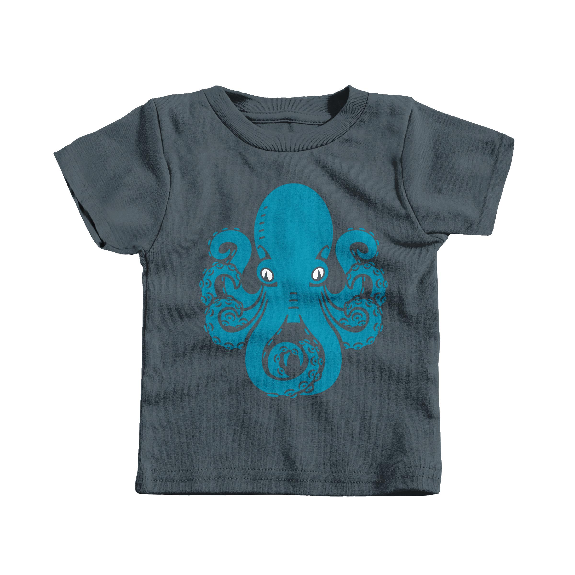 Eight Legged Friend Charcoal (T-Shirt)