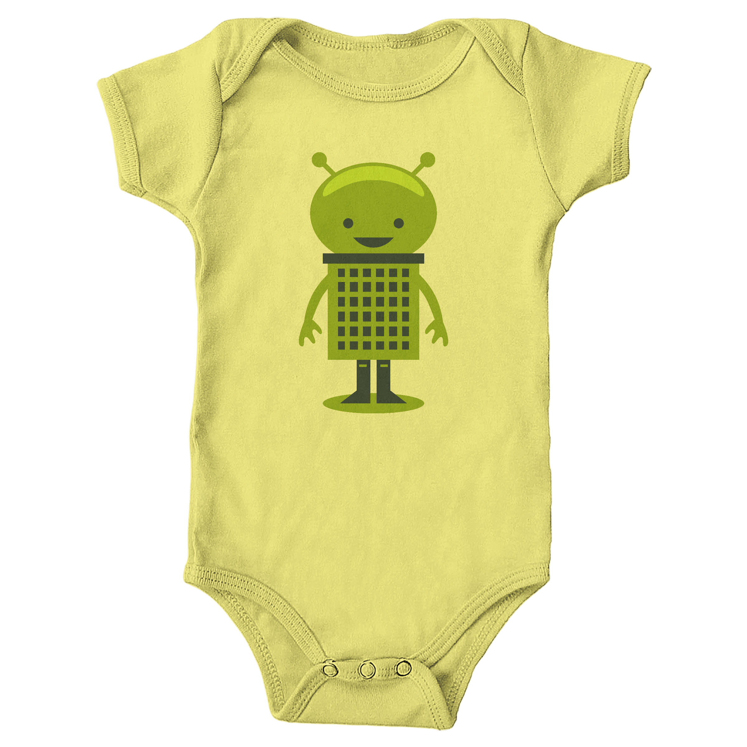 Little Alien Yellow (Onesie)