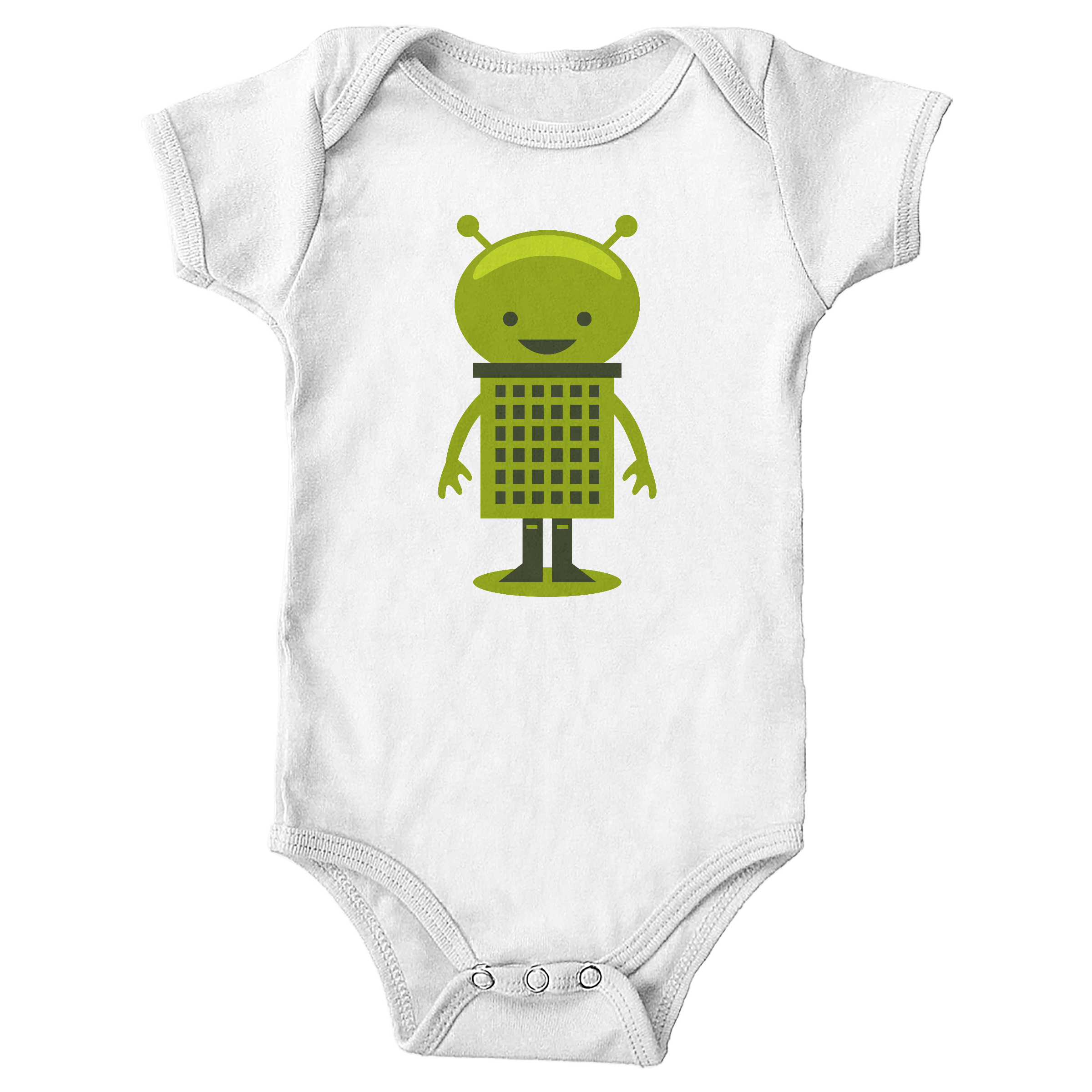 Little Alien White (Onesie)