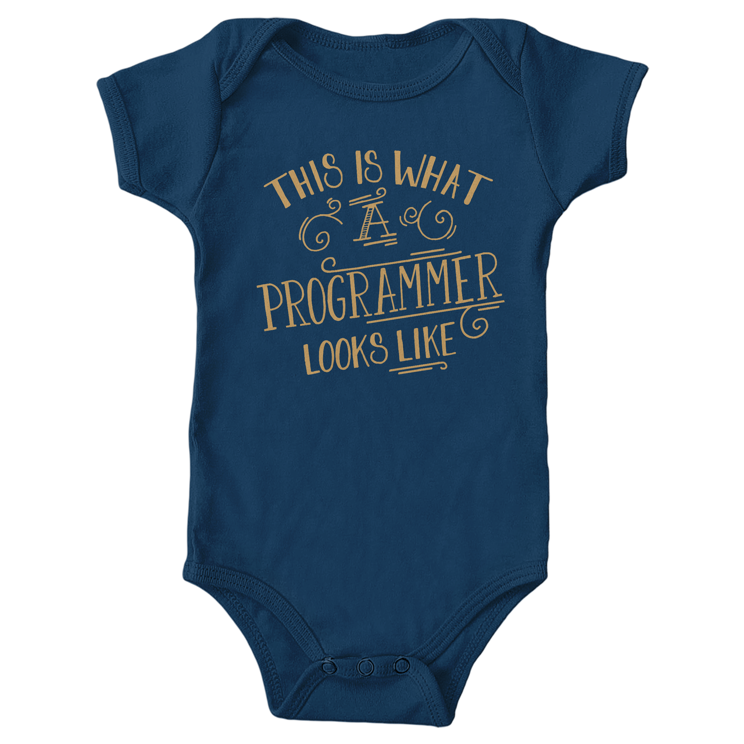 This is What a Programmer Looks Like Navy (Onesie)