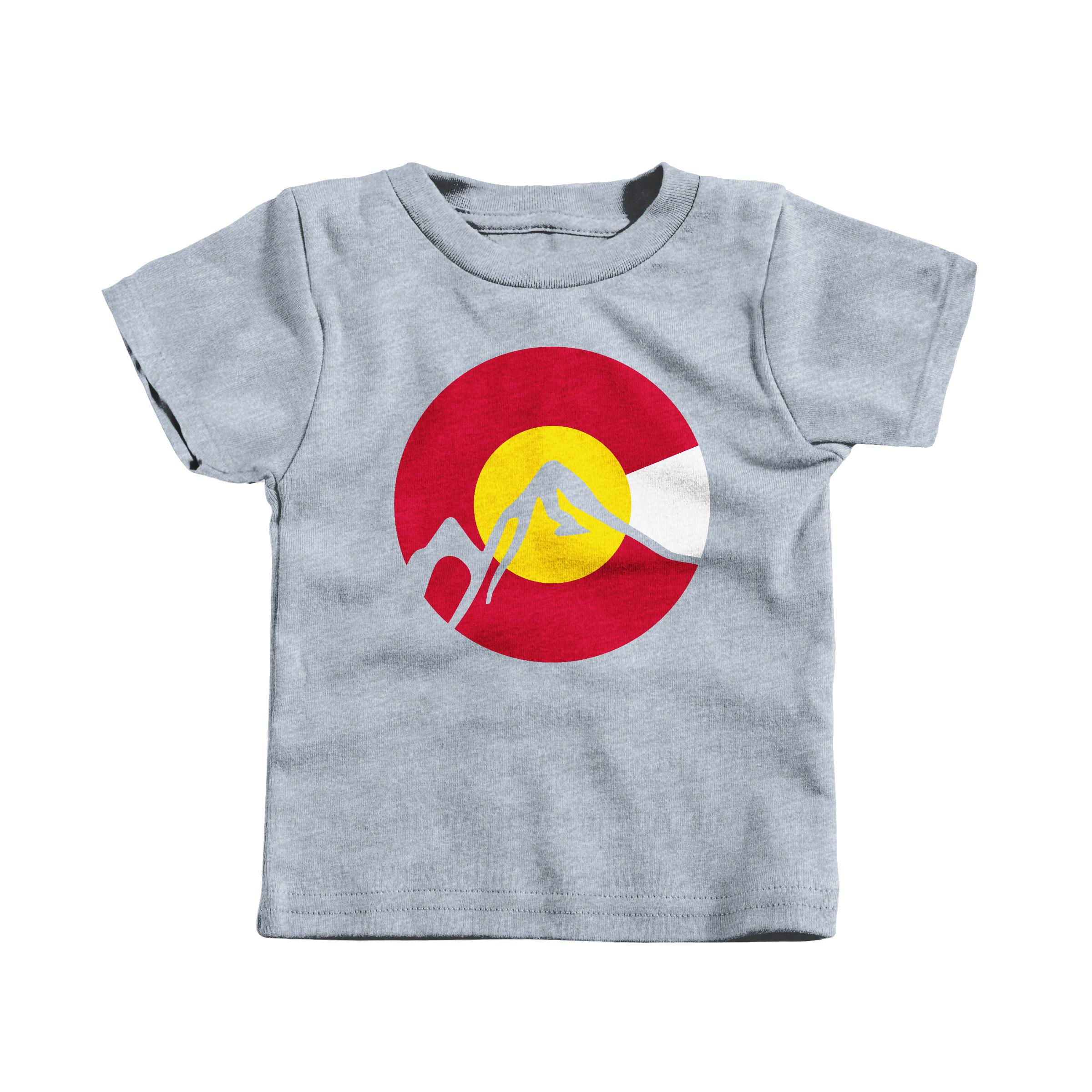 Colorado Sun Heather Grey (T-Shirt)